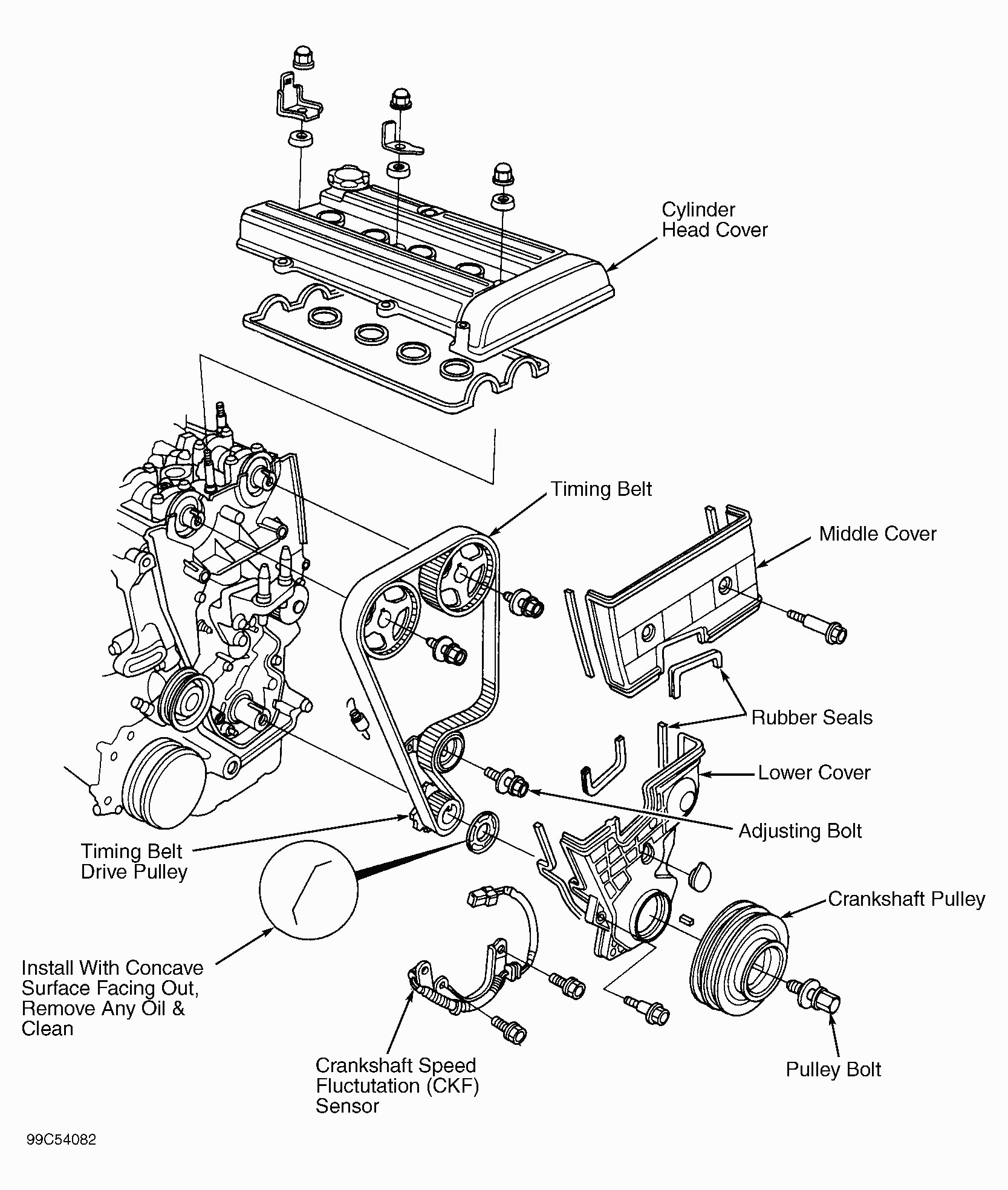 Honda Crv Engine Diagram Honda B Engine Diagram Honda Wiring Diagrams Instructions Of Honda Crv Engine Diagram