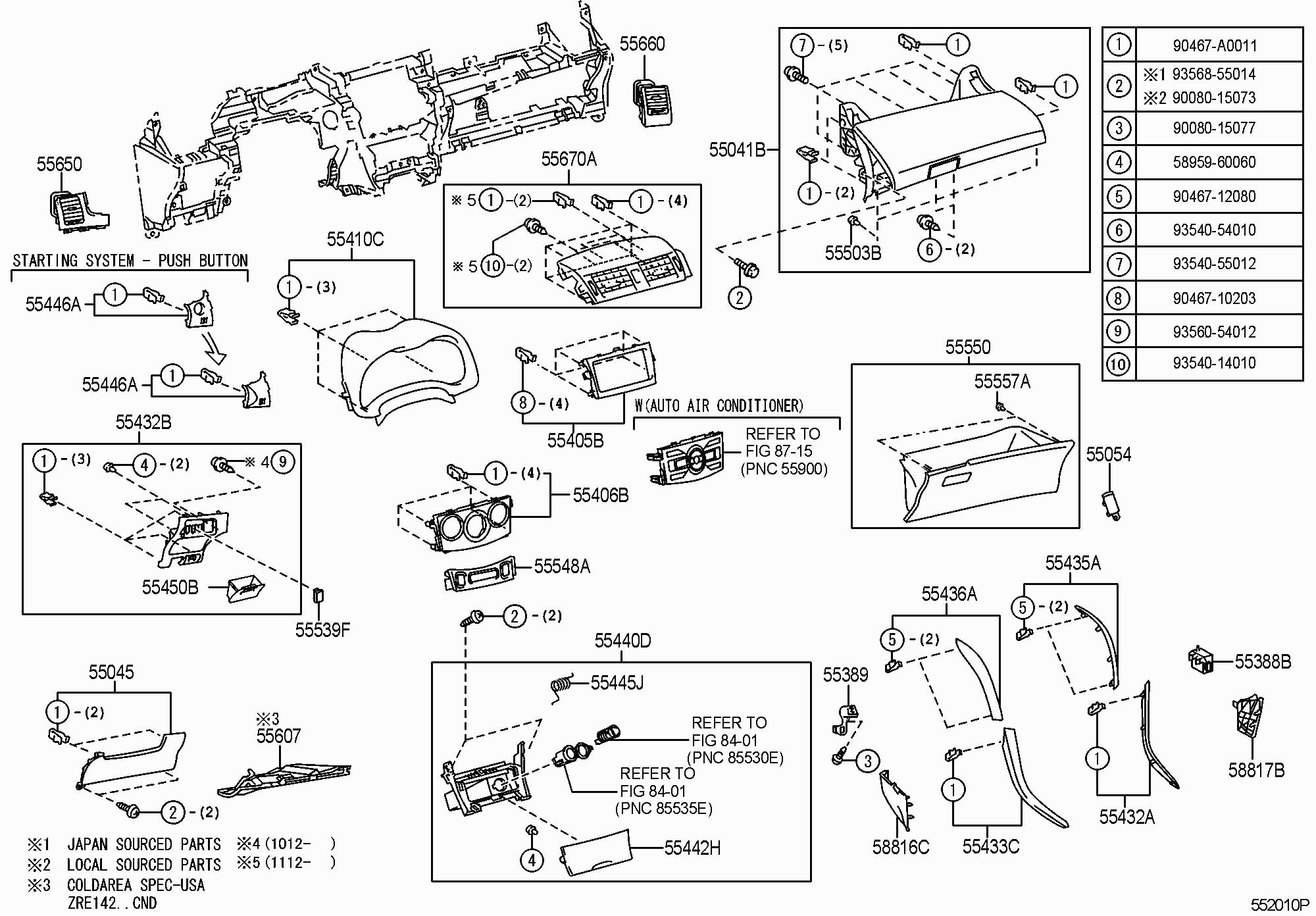 2004 Toyota Sequoia Parts Diagram 2007 Mirror Power Wiring Front End Body House Symbols