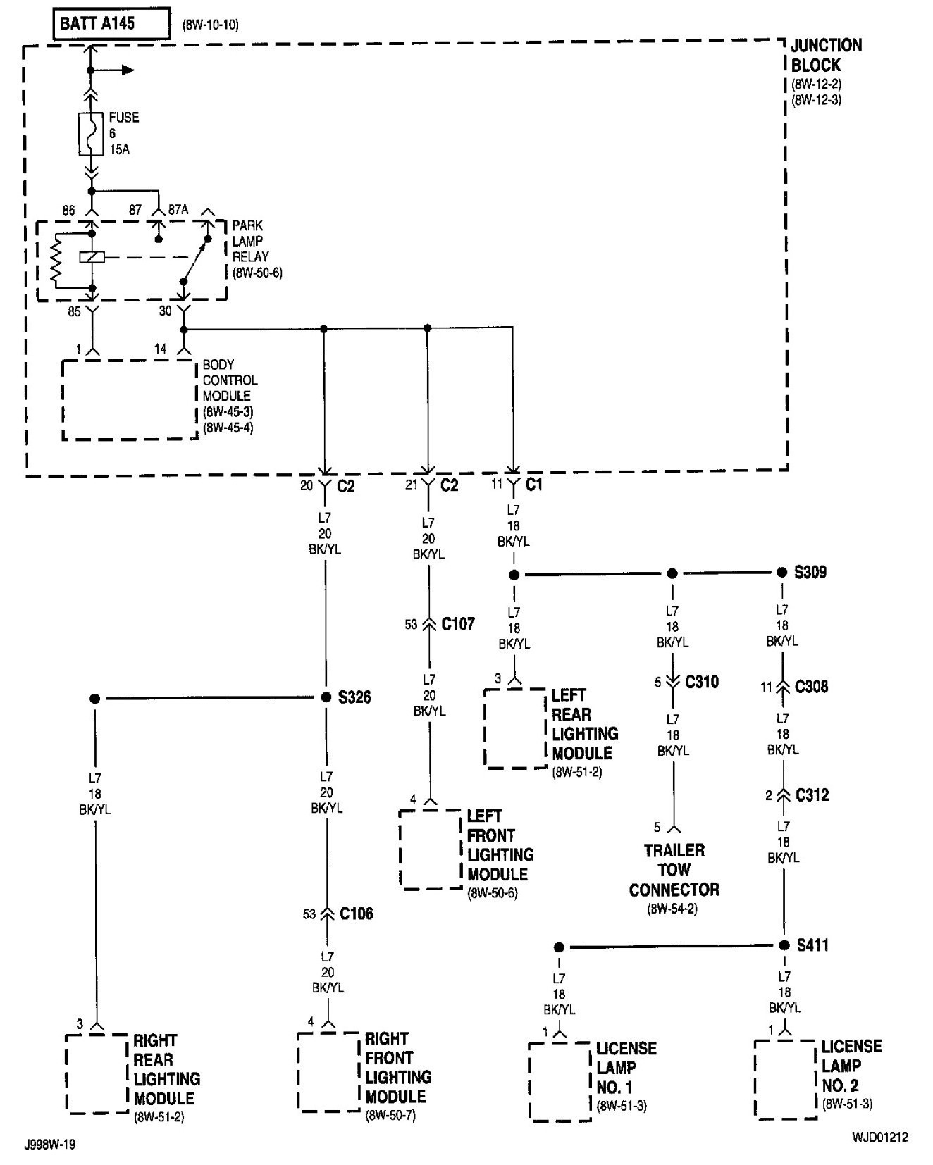 2005 Jeep Grand Cherokee Trailer Wiring Diagram : Jeep cherokee engine diagram wiring library