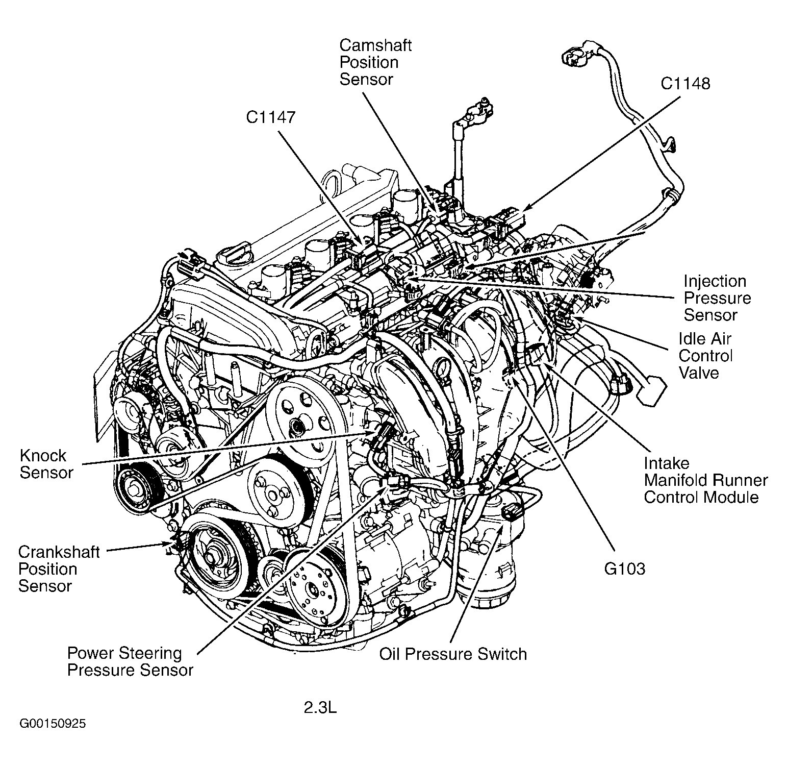 2010 ford escape engine diagram