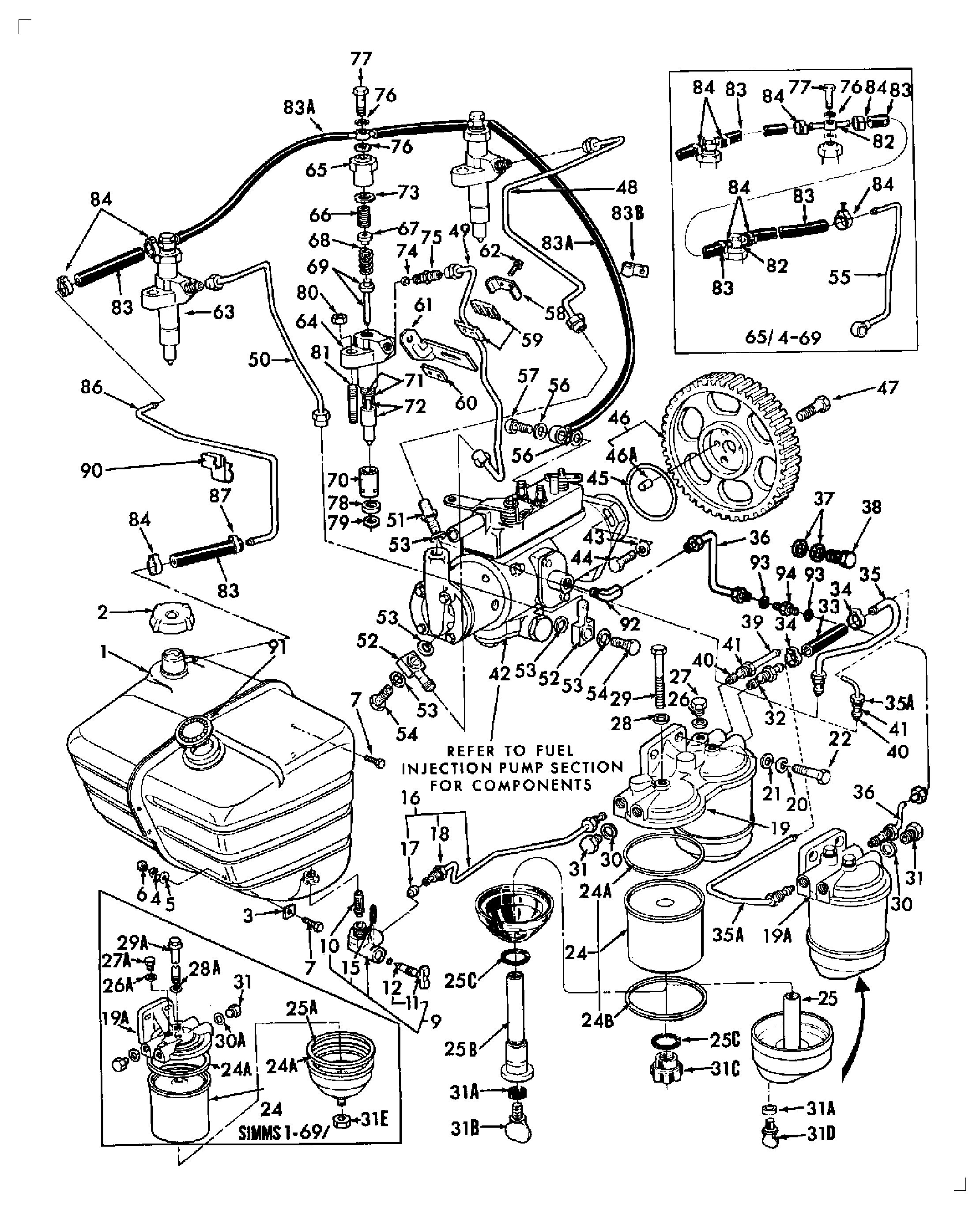 40 hp evinrude parts diagram
