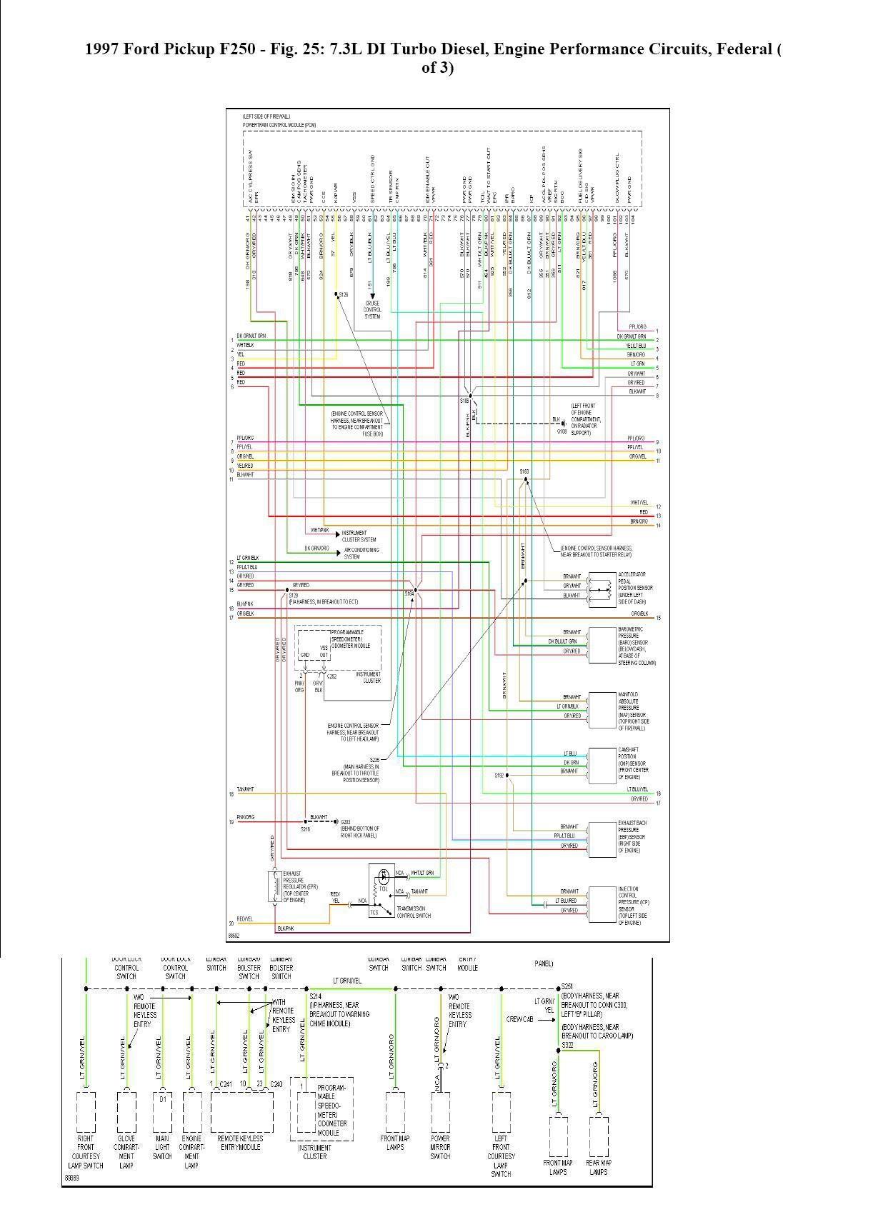 7 3 Powerstroke Engine Diagram F250 7 3l Wiring Diagram Wiring Diagrams • Of 7 3 Powerstroke Engine Diagram