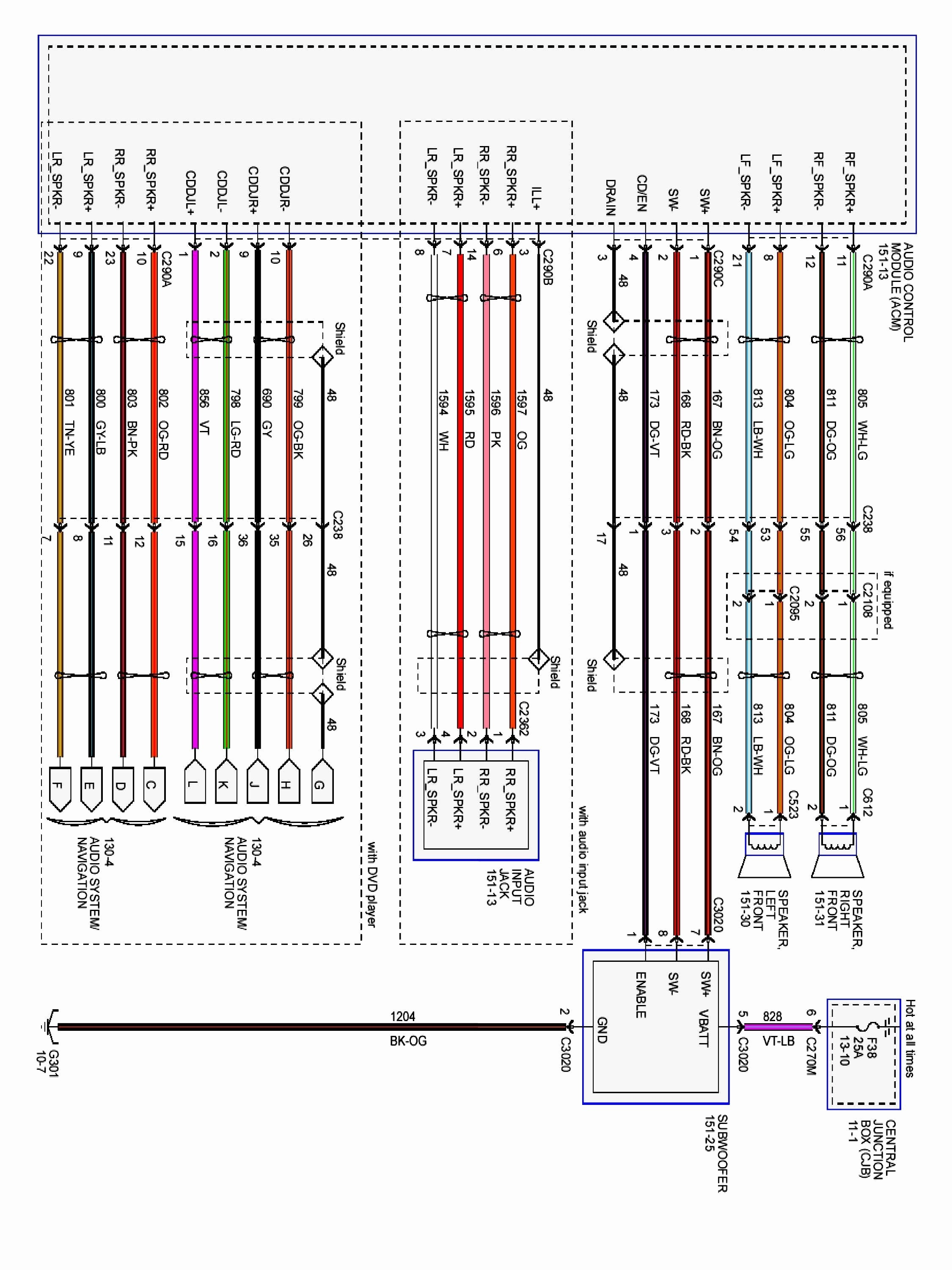98 F150 Wiring Diagram 97 ford F 150 4 Way Trailer Wiring Diagram Data Wiring  Diagrams