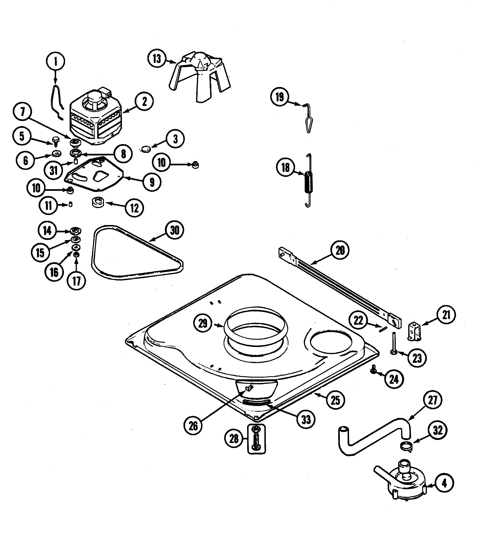 Admiral Washing Machine Parts Diagram Admiral Model Lnc6764a71 Residential Washers Genuine Parts