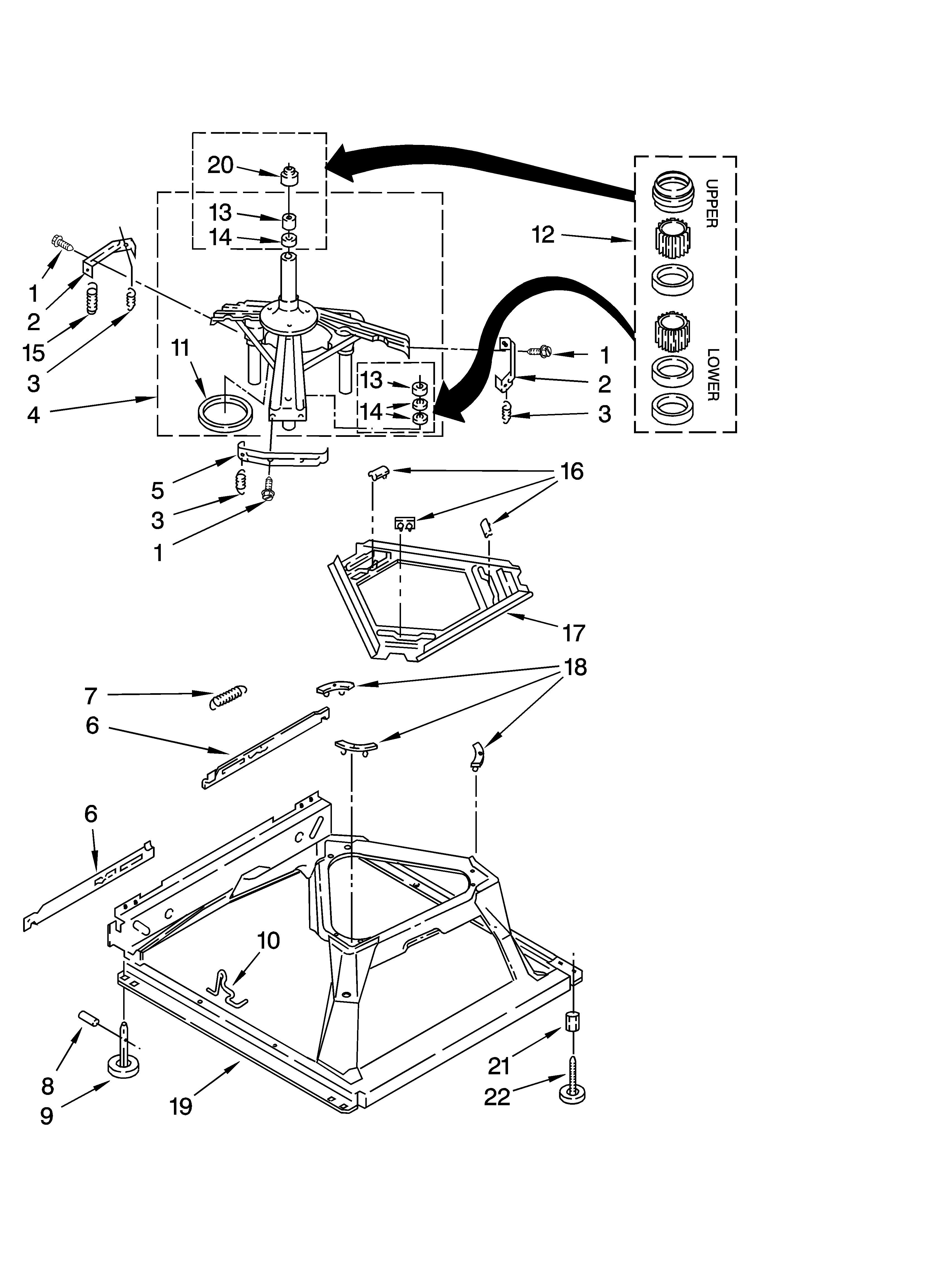 Admiral Washing Machine Parts Diagram Maytag Model Mat14csaww0 Mercial Washers Genuine Parts Of Admiral Washing Machine Parts Diagram