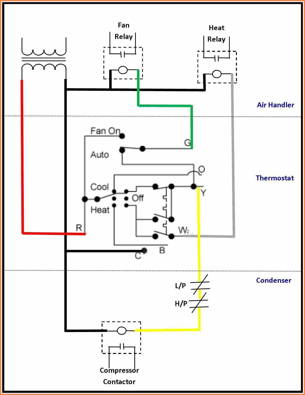 Air Conditioning thermostat Wiring Diagram Luxury Air Conditioner thermostat Wiring Diagram Striking Goodman Ac Of Air Conditioning thermostat Wiring Diagram