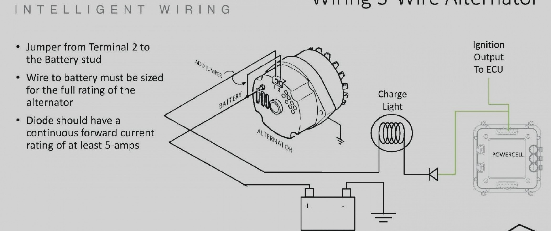 Alternator Wiring Diagram Internal Regulator Yj Alternator Wiring Archives Citruscyclecenter Of Alternator Wiring Diagram Internal Regulator