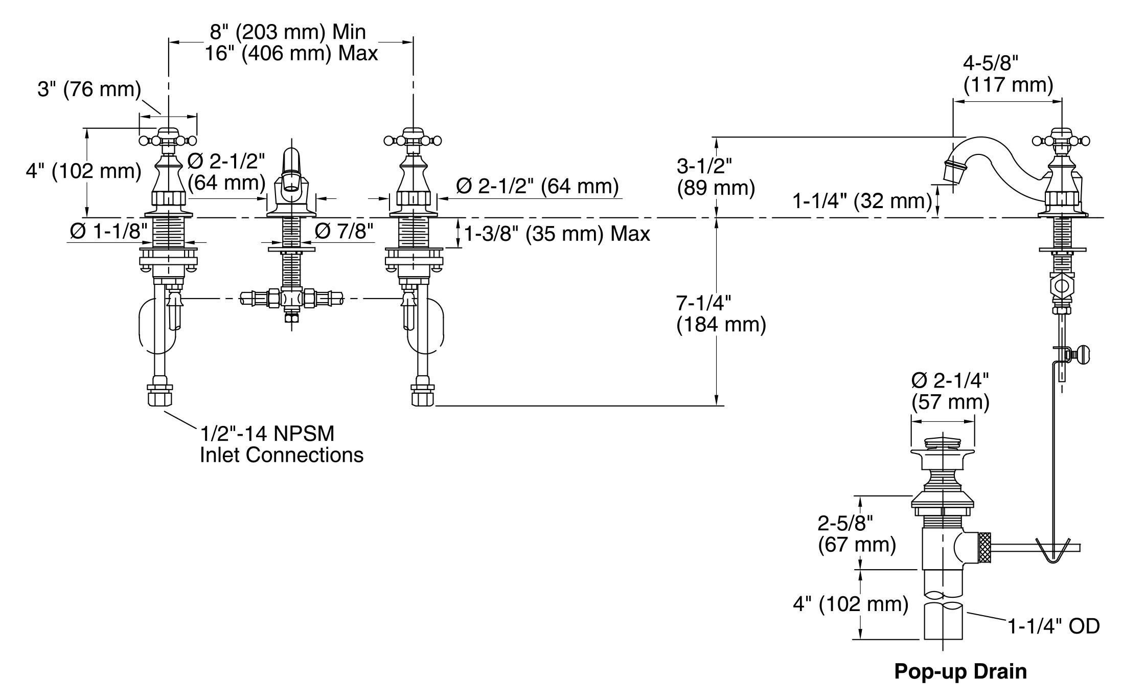 American Standard toilet Parts Diagram Faucet Outdoor Faucet Parts ...