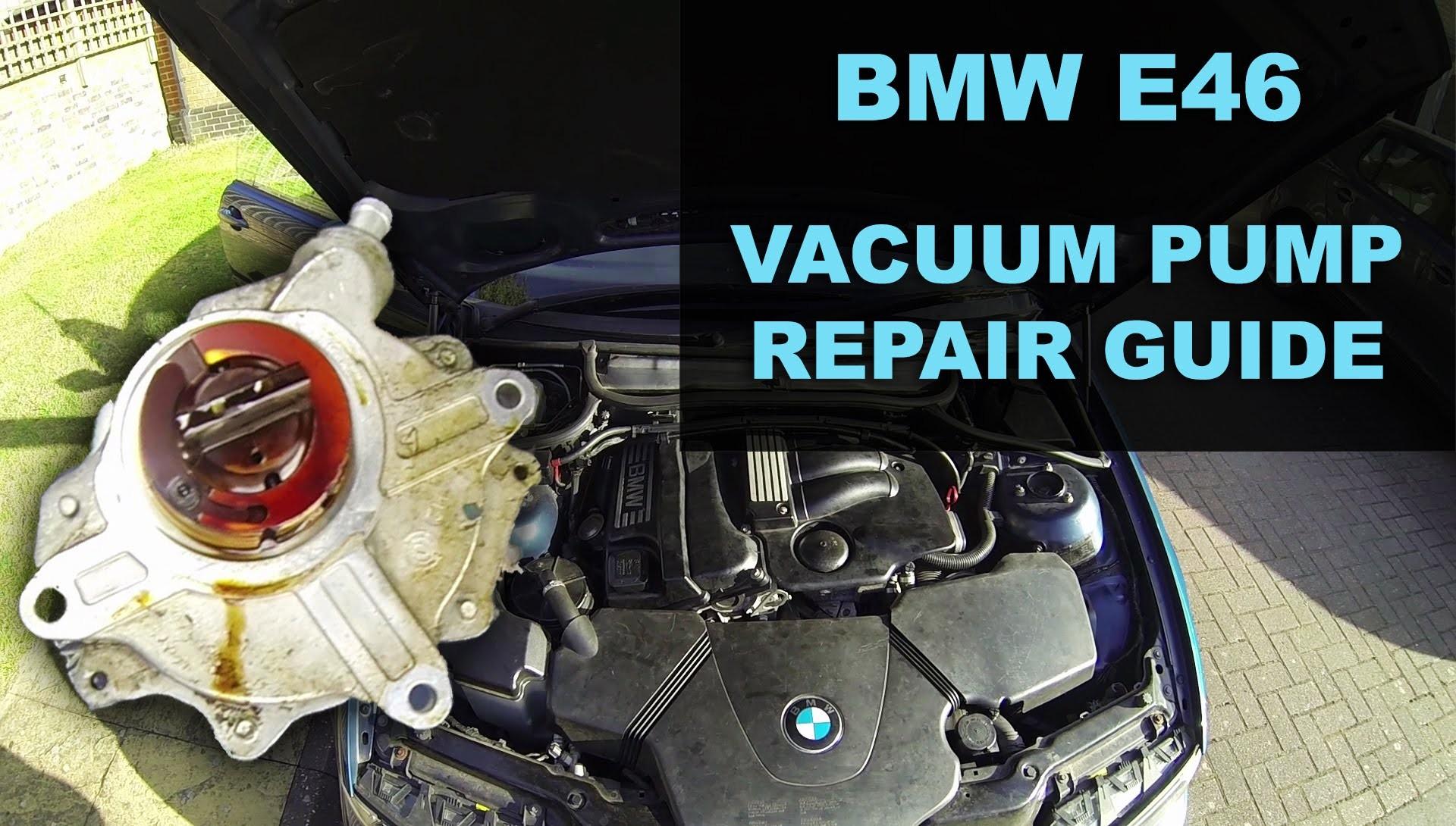 Bmw E46 Engine Diagram Bmw E46 Vacuum Pump Repair Of Bmw E46 Engine Diagram