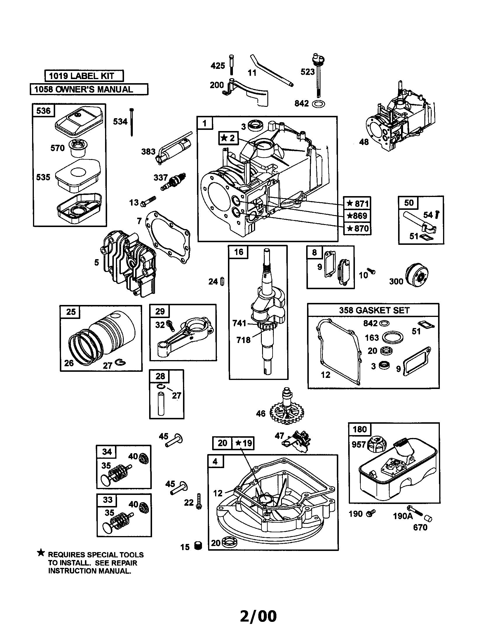 briggs and stratton 6 5 hp engine diagram 2 briggs and stratton wiring diagram  5 hp