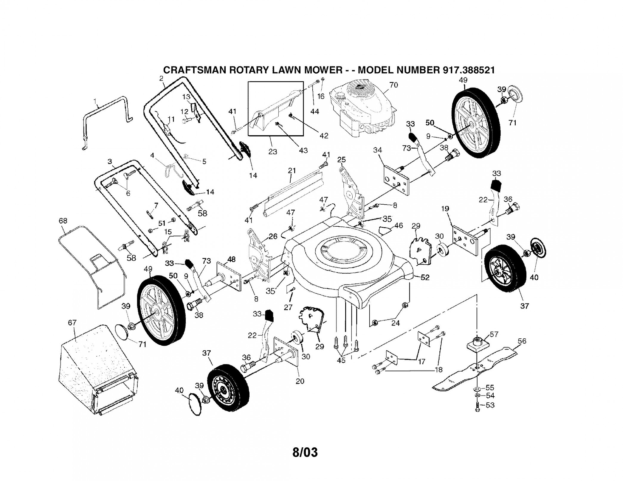 Briggs and Stratton Lawn Mower Parts Diagram Briggs and Stratton Engine Troubleshooting Diagram – Craftsman Model Of Briggs and Stratton Lawn Mower Parts Diagram Briggs and Stratton Recoil Starter assembly Diagram – Awesome