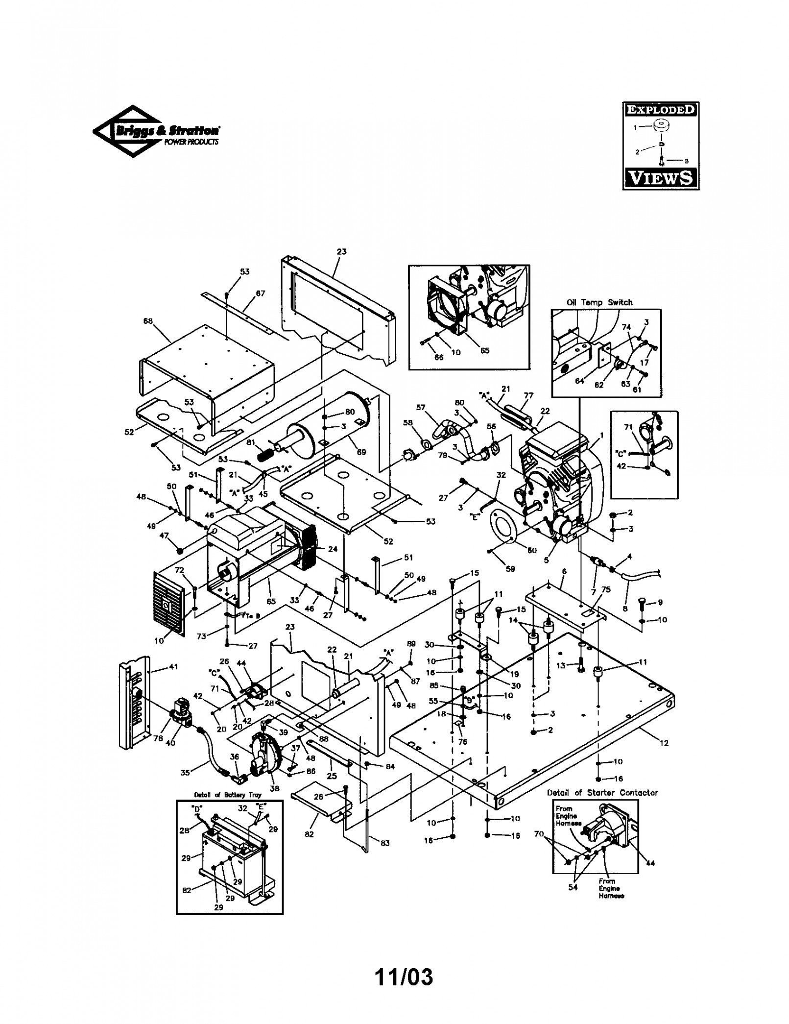 Briggs And Stratton Lawn Mower Parts Diagram Briggs