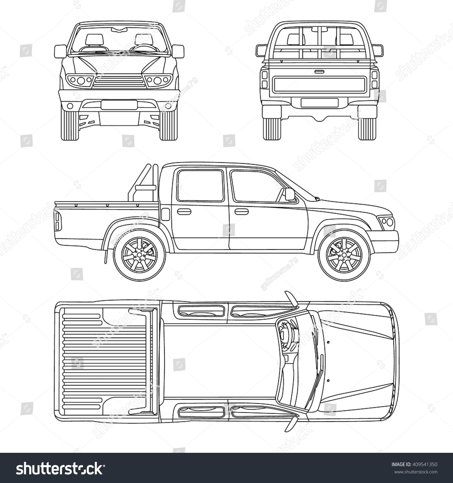 Car Inspection Diagram