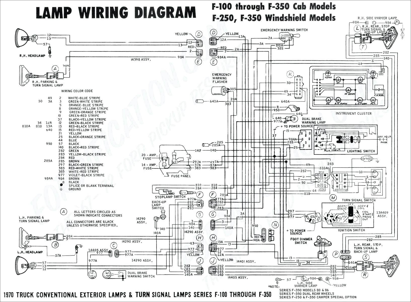 Chevy Truck Fuse Box Diagram Wiring Diagram for Home Fuse Box New 94 ford  F53 Flasher