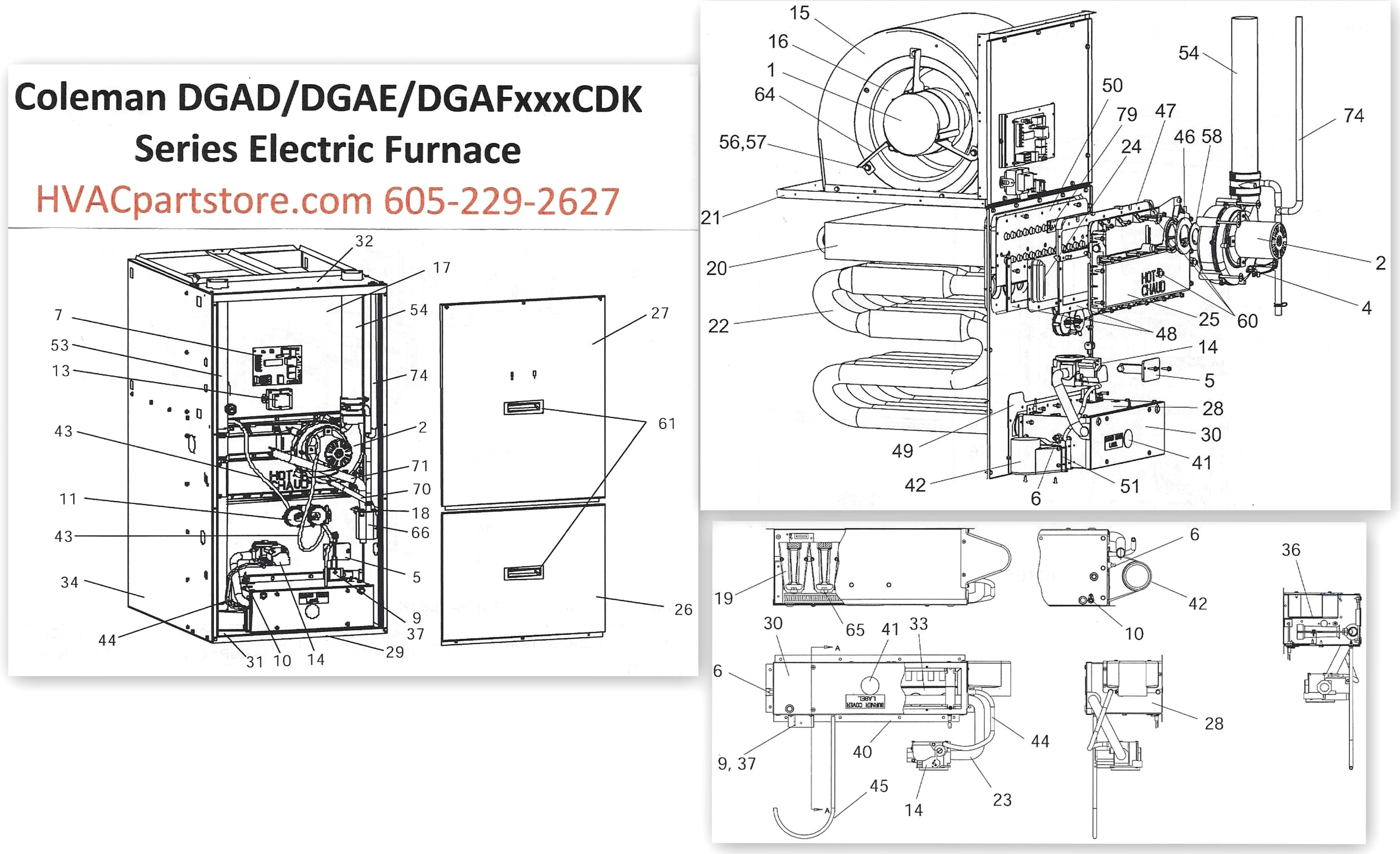 coleman electric furnace parts diagram universal wiring eb15d coleman evcon wiring diagram