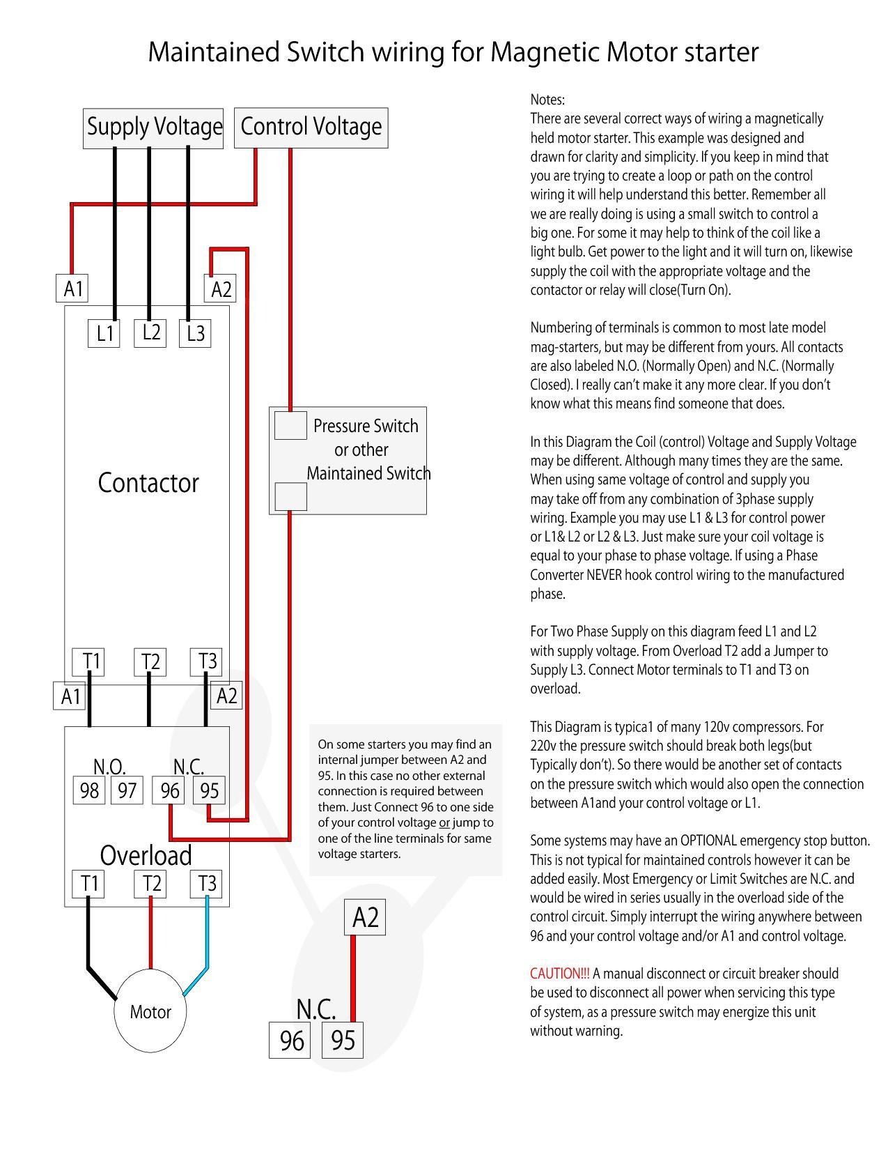 Cutler Hammer Motor Starter Diagrams - Wiring Diagram Data on