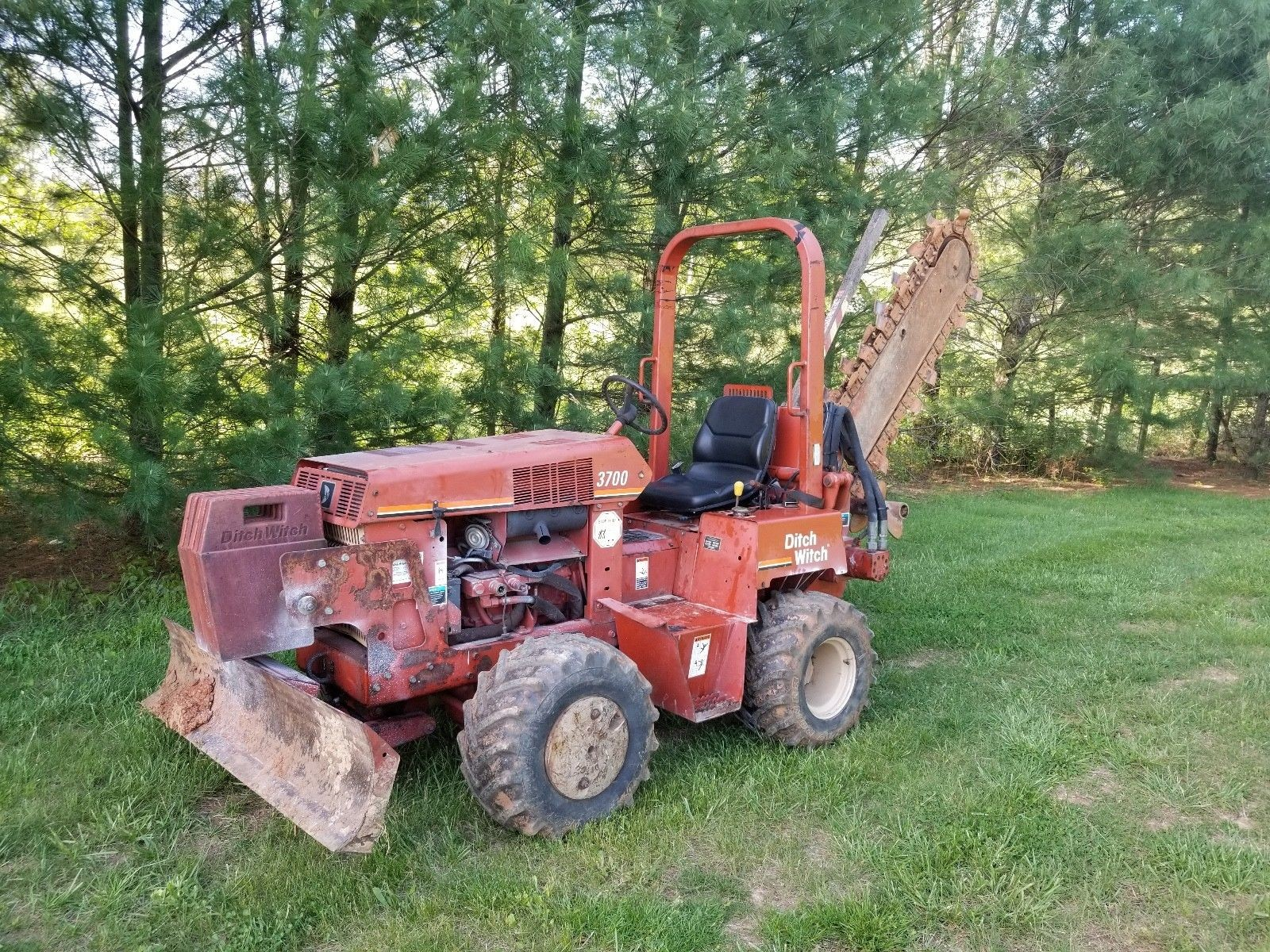 Ditch Witch Parts Diagram Ditch Witch 3700dd Trencher Diesel $8 450 00 Of Ditch Witch Parts Diagram
