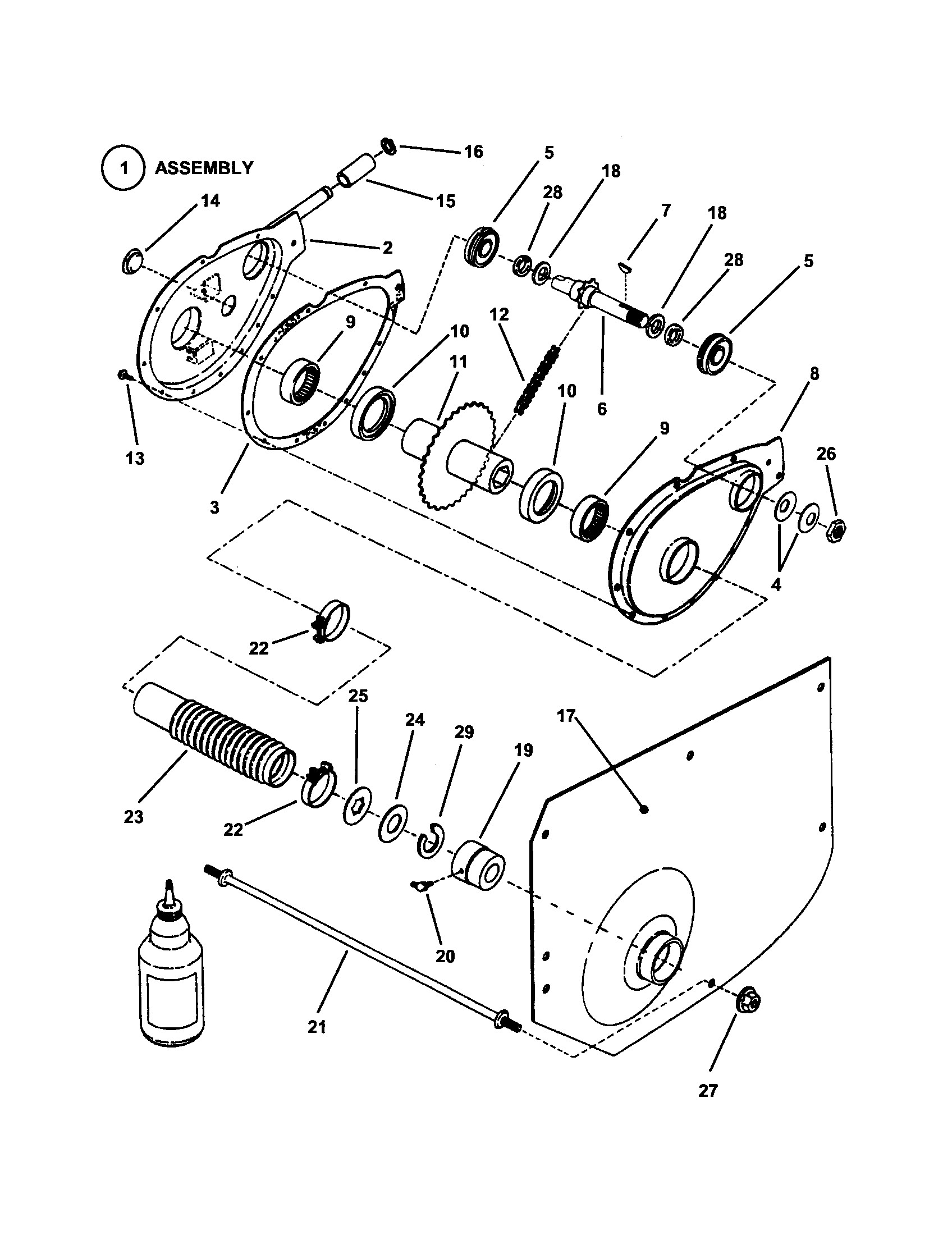 dixon lawn mower parts diagram 917 craftsman 26 hp 54 inch