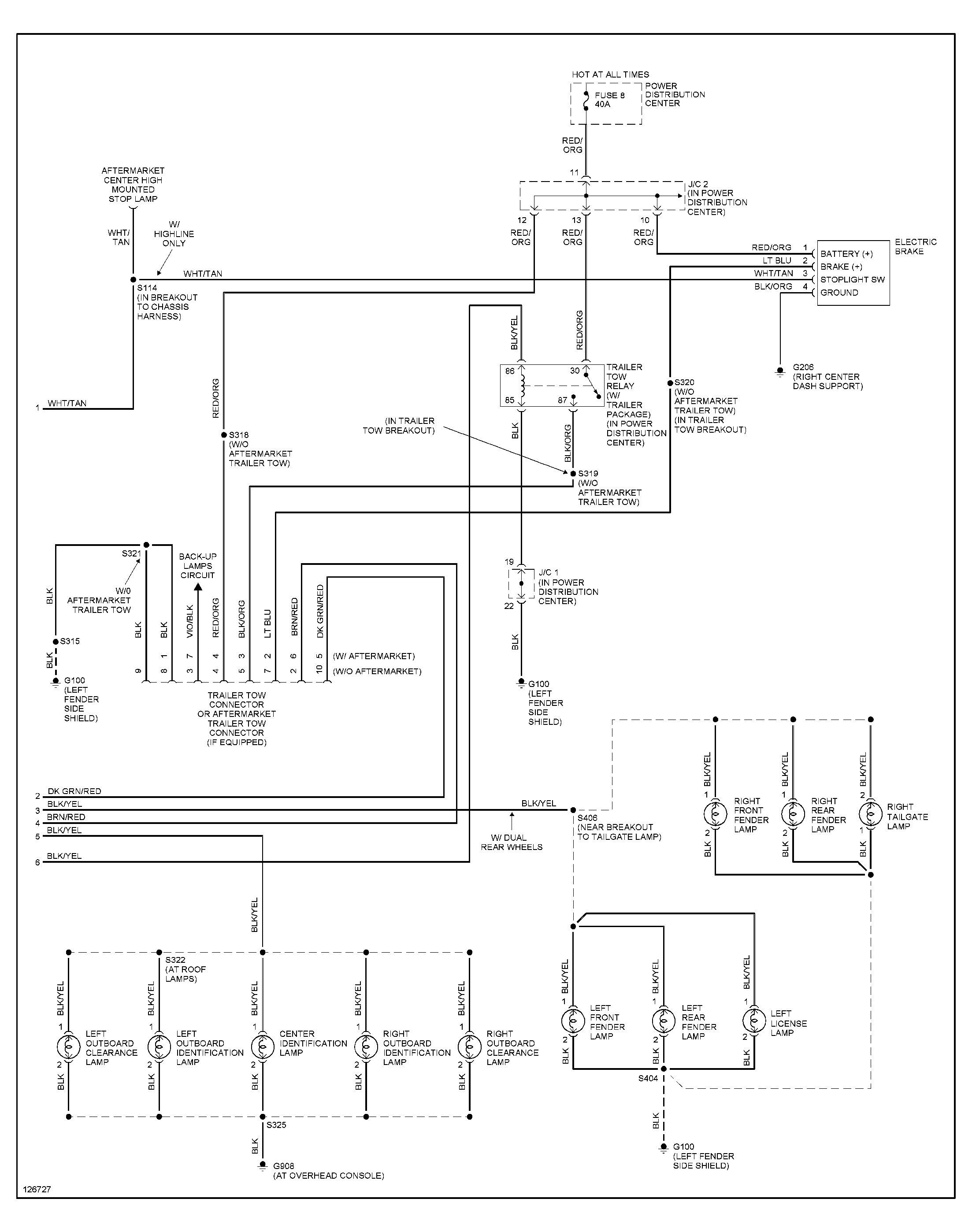 Dodge 4 7 Engine Diagram 2 1997 Dodge Ram 1500 Tail Lights