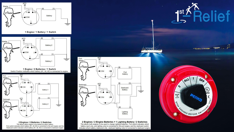 Dual Battery Switch Wiring Diagram Marine Dual Battery Wiring Diagram Inspiriraj Of Dual Battery Switch Wiring Diagram