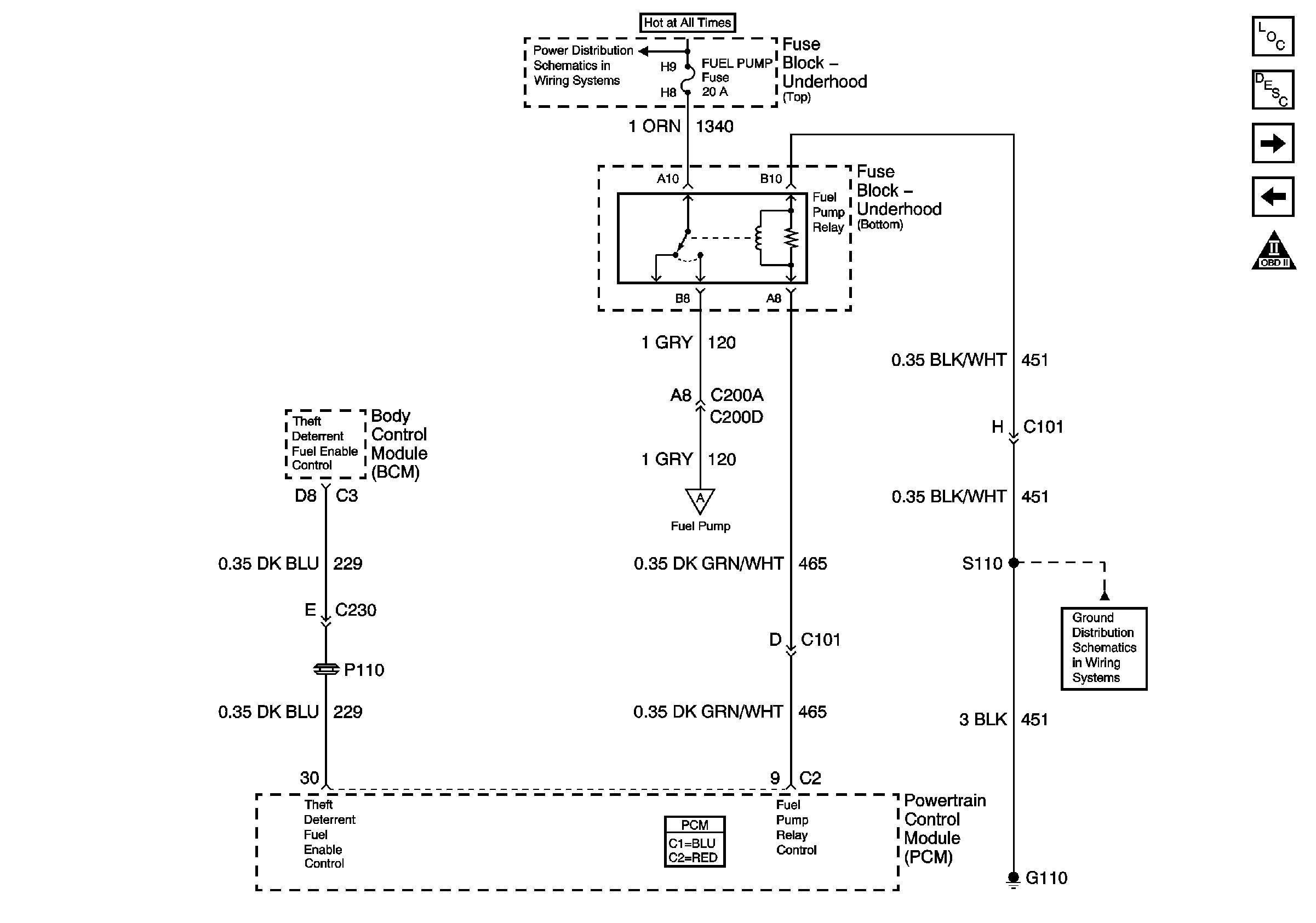Electric Fuel Pump Relay Wiring Diagram Gm Nissan Grand Livina Ipphil Of