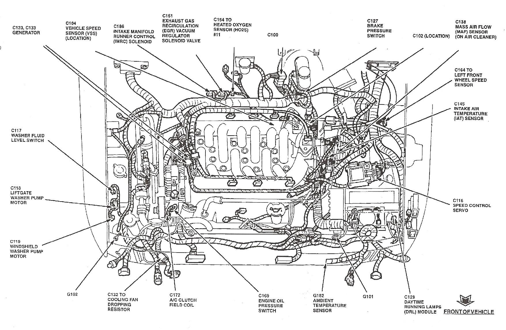 Engine Coolant Diagram