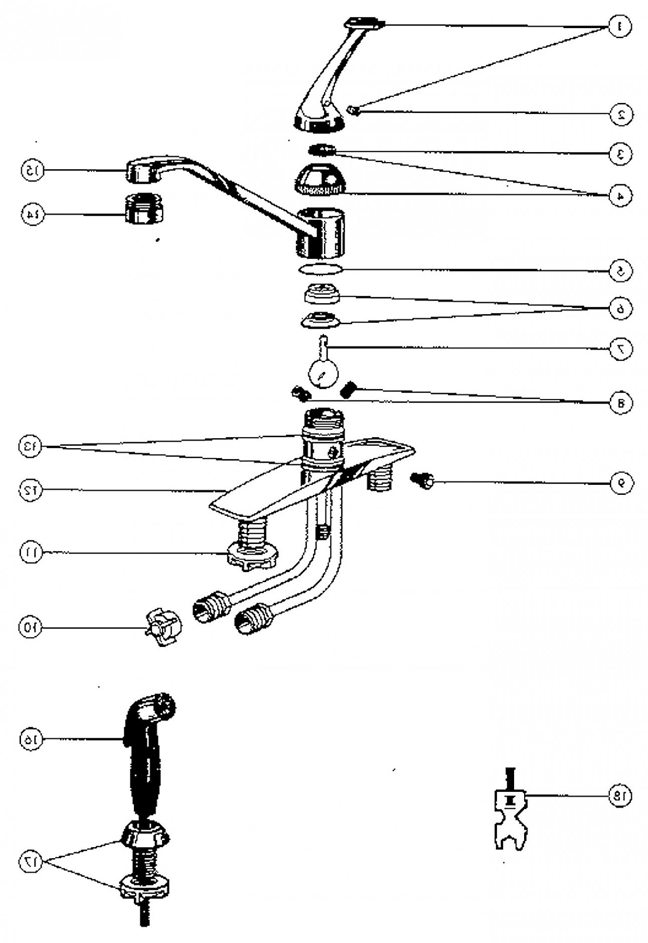 grohe ladylux plus parts diagram