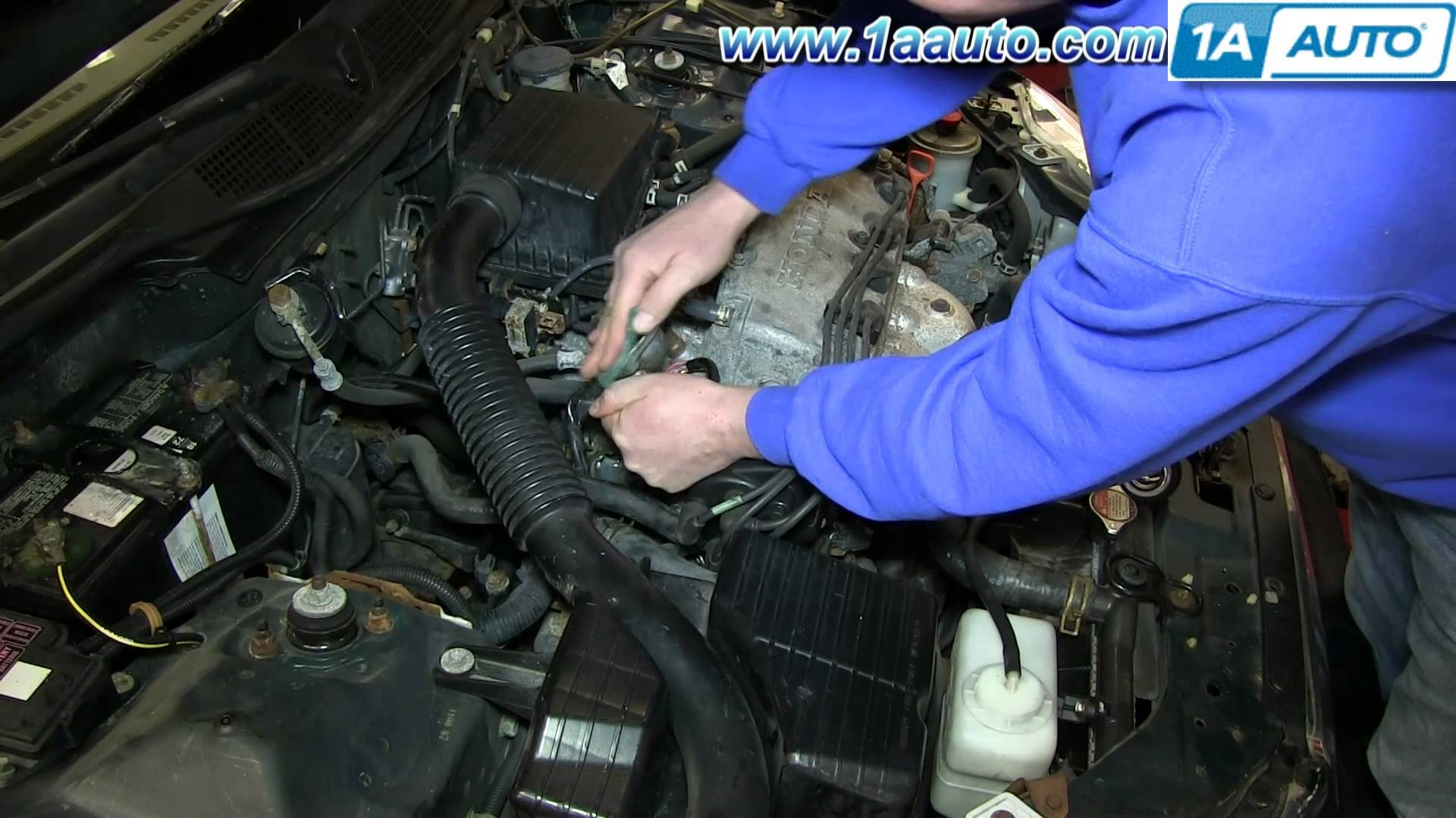 98 Pathfinder Engine Diagram Wiring Library 1998 Honda Civic How To Install Replace Coolant Thermostat 1992 1