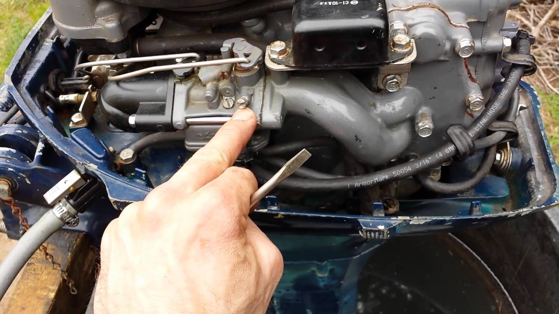 Honda Small Engine Carburetor Diagram 1983 Bf75l Honda 7 5hp Outboard after 2nd Carb Service Of Honda Small Engine Carburetor Diagram