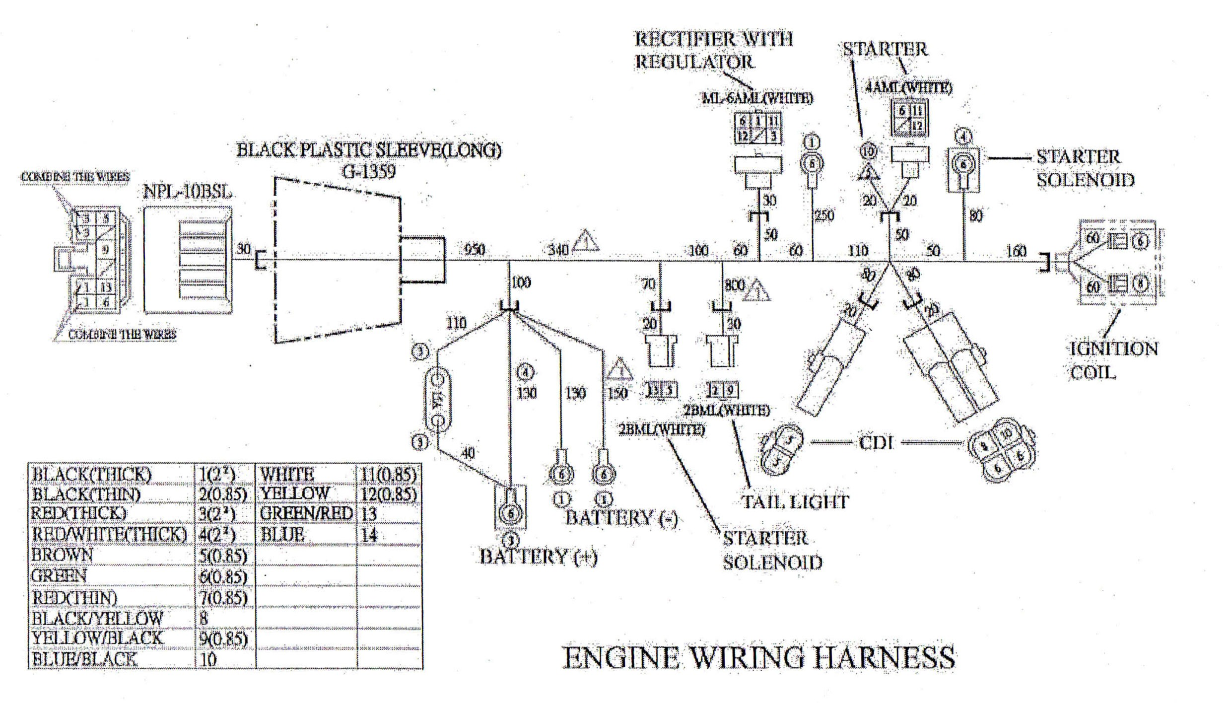 Howhit 150cc Engine Diagram   My Wiring DIagram