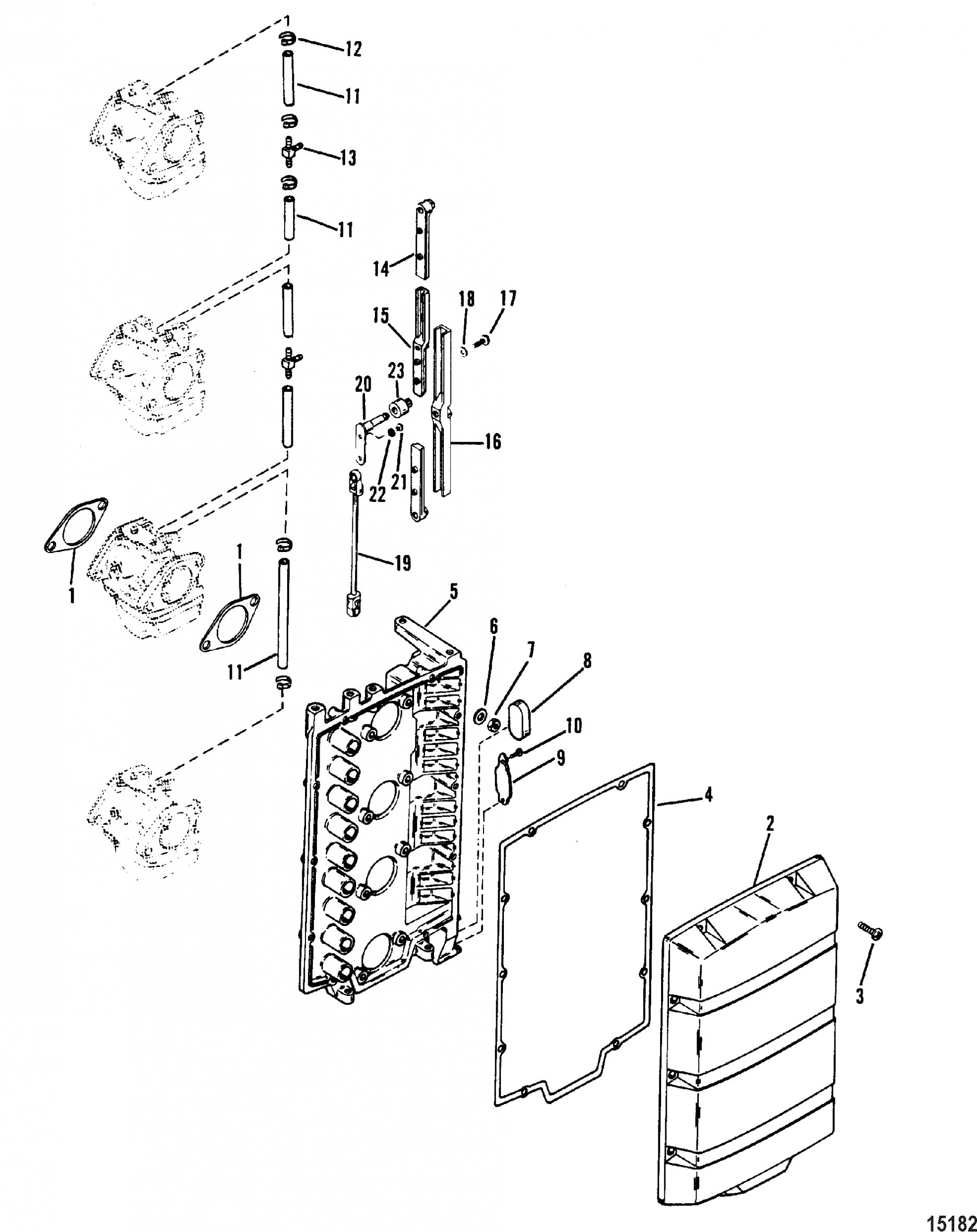 Mercury Outboard Engine Diagram Mercury Outboard Motor Parts Diagram – Mercury Mercury 115 4 Cyl Of Mercury Outboard Engine Diagram
