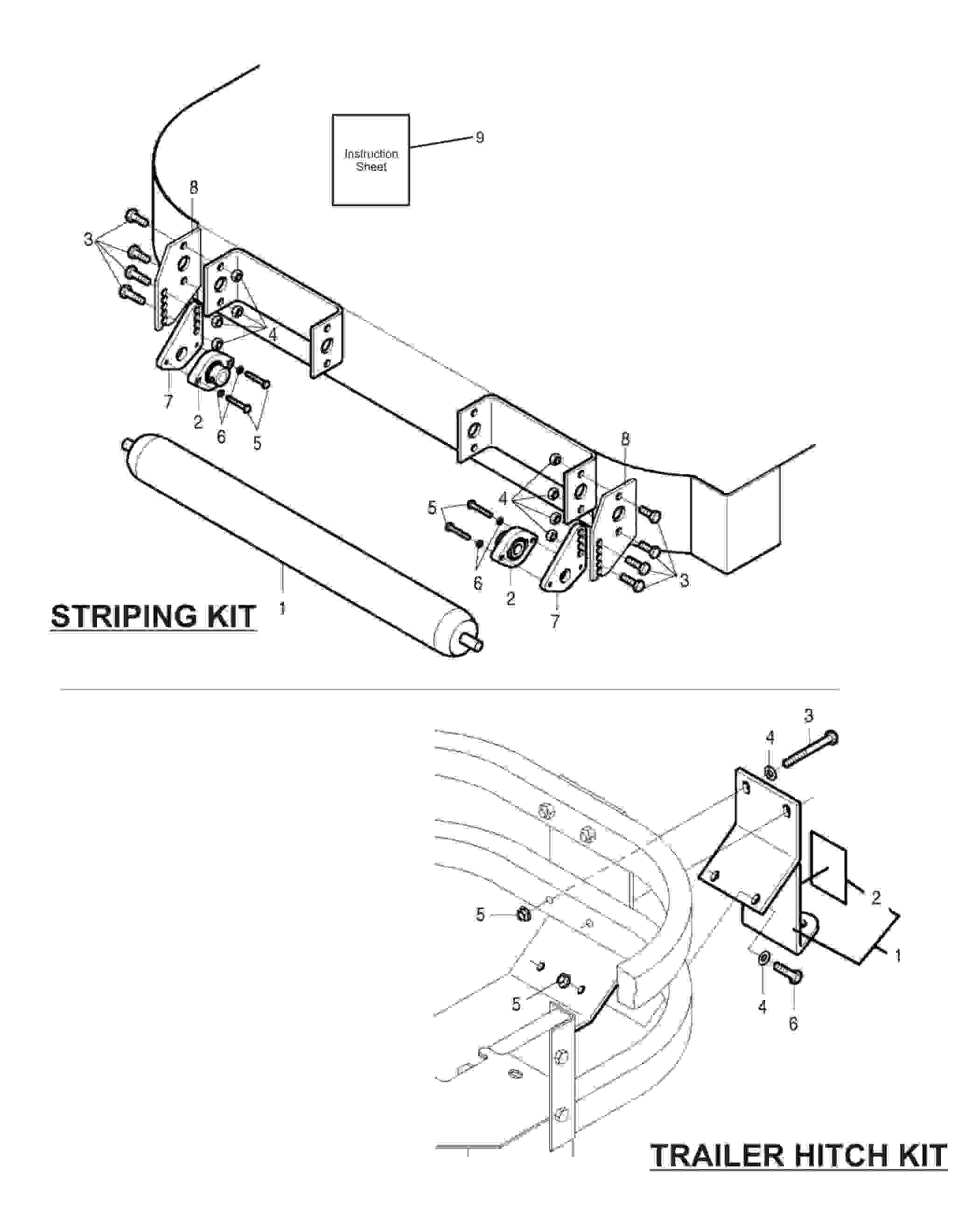 Parts Of A Trailer Hitch Diagram Servis Rhino Typhoon 2011 Zero Turn Mower Striping Kit and Trailer Of Parts Of A Trailer Hitch Diagram