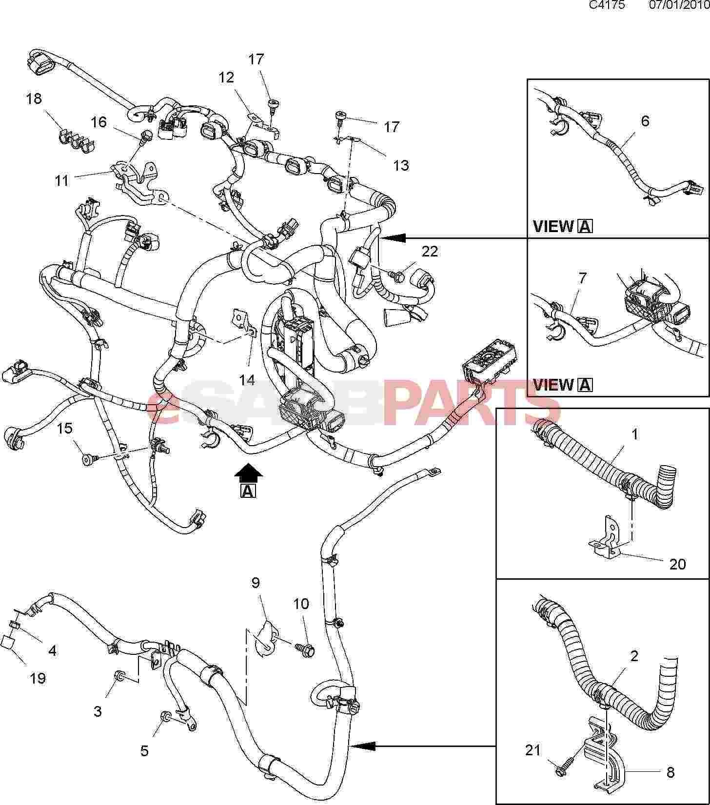 2003 Saab 9 3 Convertible Release Motor Rear Diagram Saab Wiring Of.