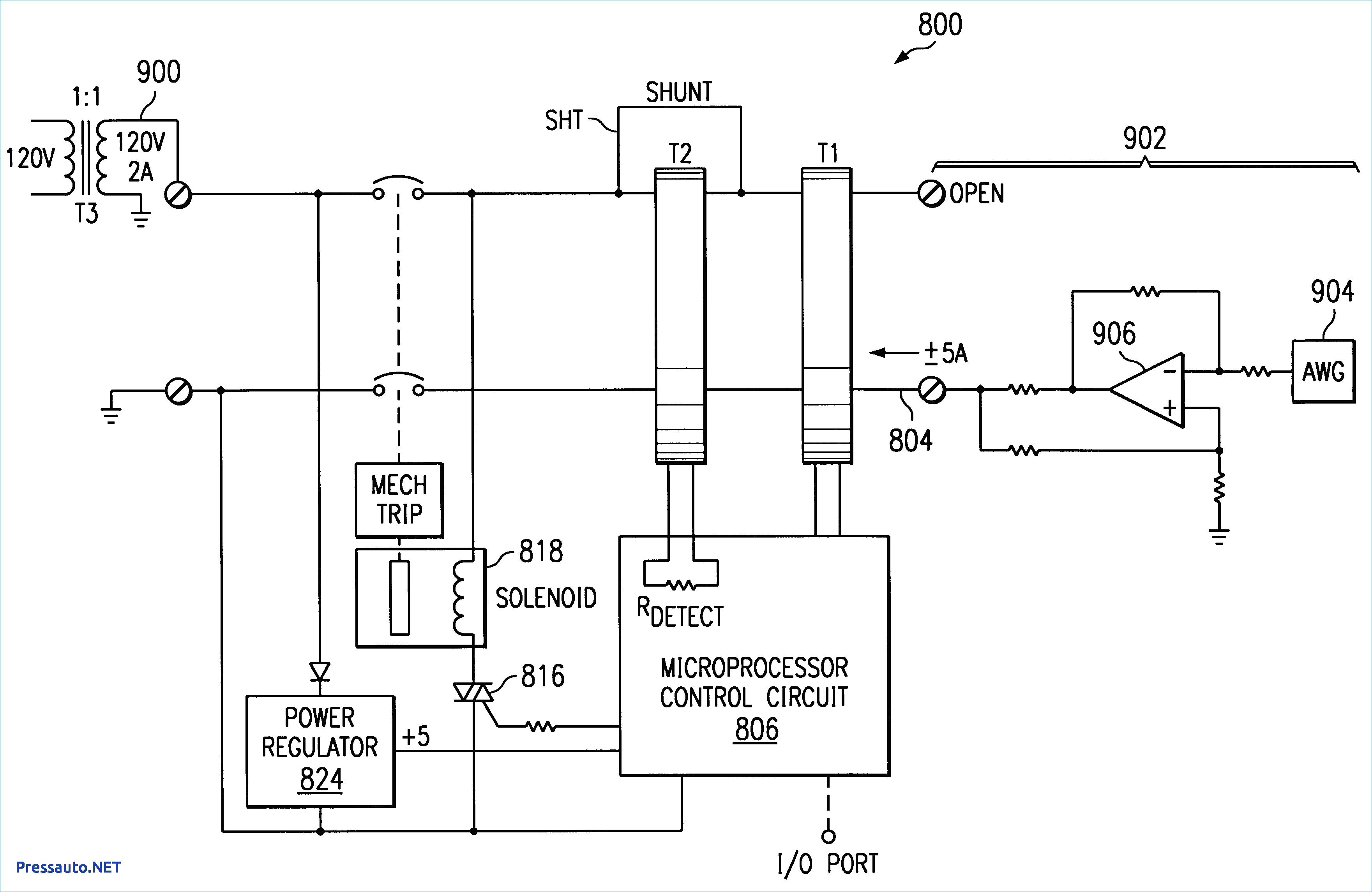 Square D Shunt Trip Breaker Wiring Diagram Wiring Diagram 2 Pole Gfci Breaker Fresh Circuit Breaker Diagram Of Square D Shunt Trip Breaker Wiring Diagram