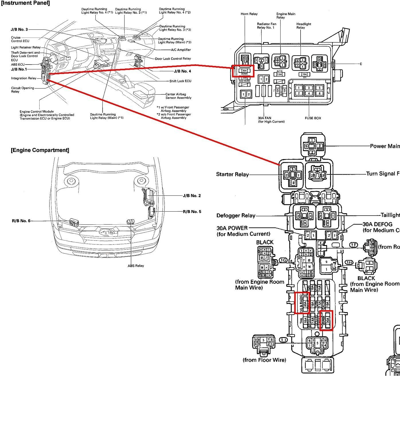 1990 Honda Accord Main Relay Wiring Diagram Library Prius Toyota Engine Check Light Unique 1992 Window