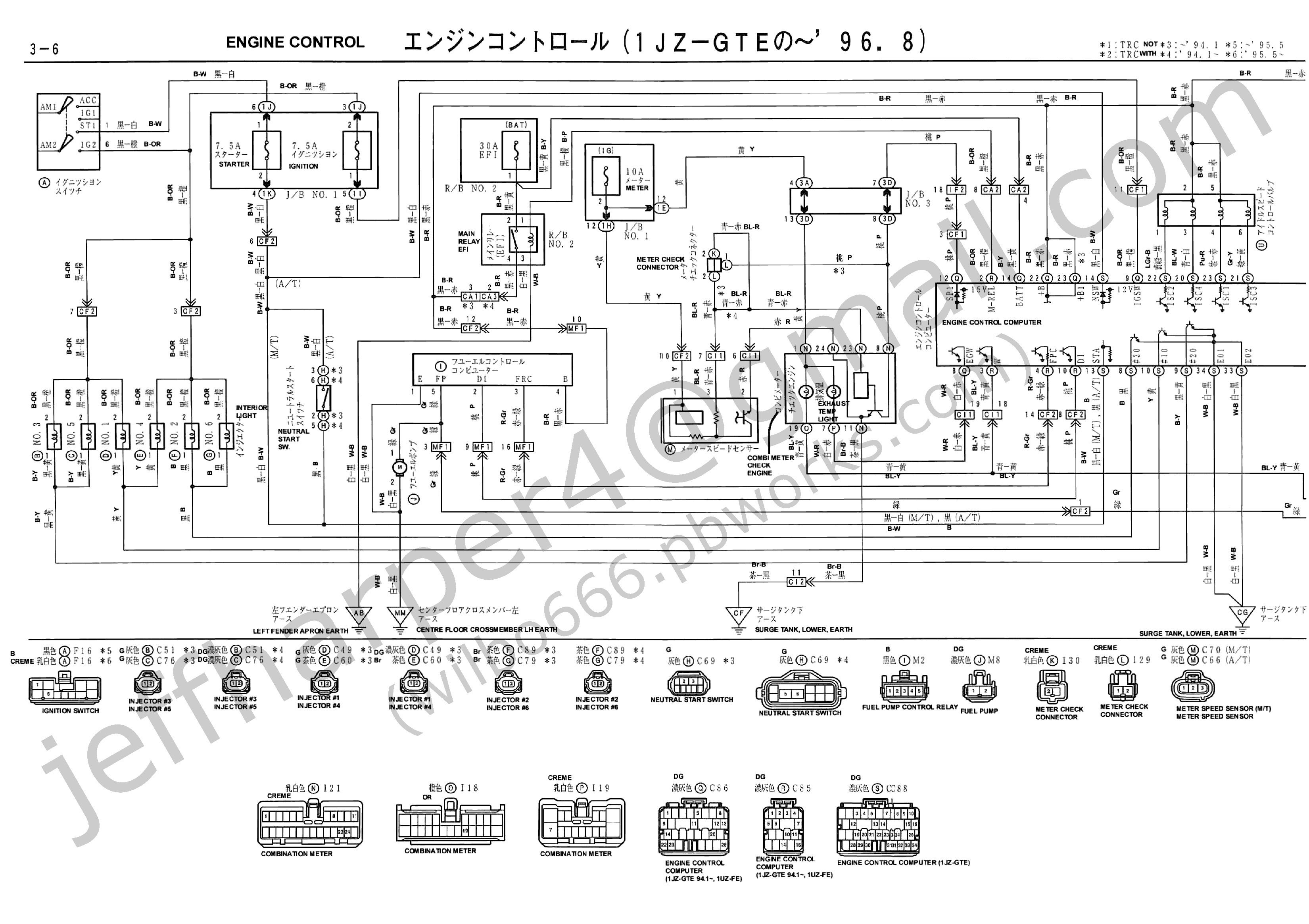Toyota V6 3 0 Efi Engine Diagram Wilbo666 1jz Gte Jzz30 soarer Engine Wiring Of Toyota V6 3 0 Efi Engine Diagram