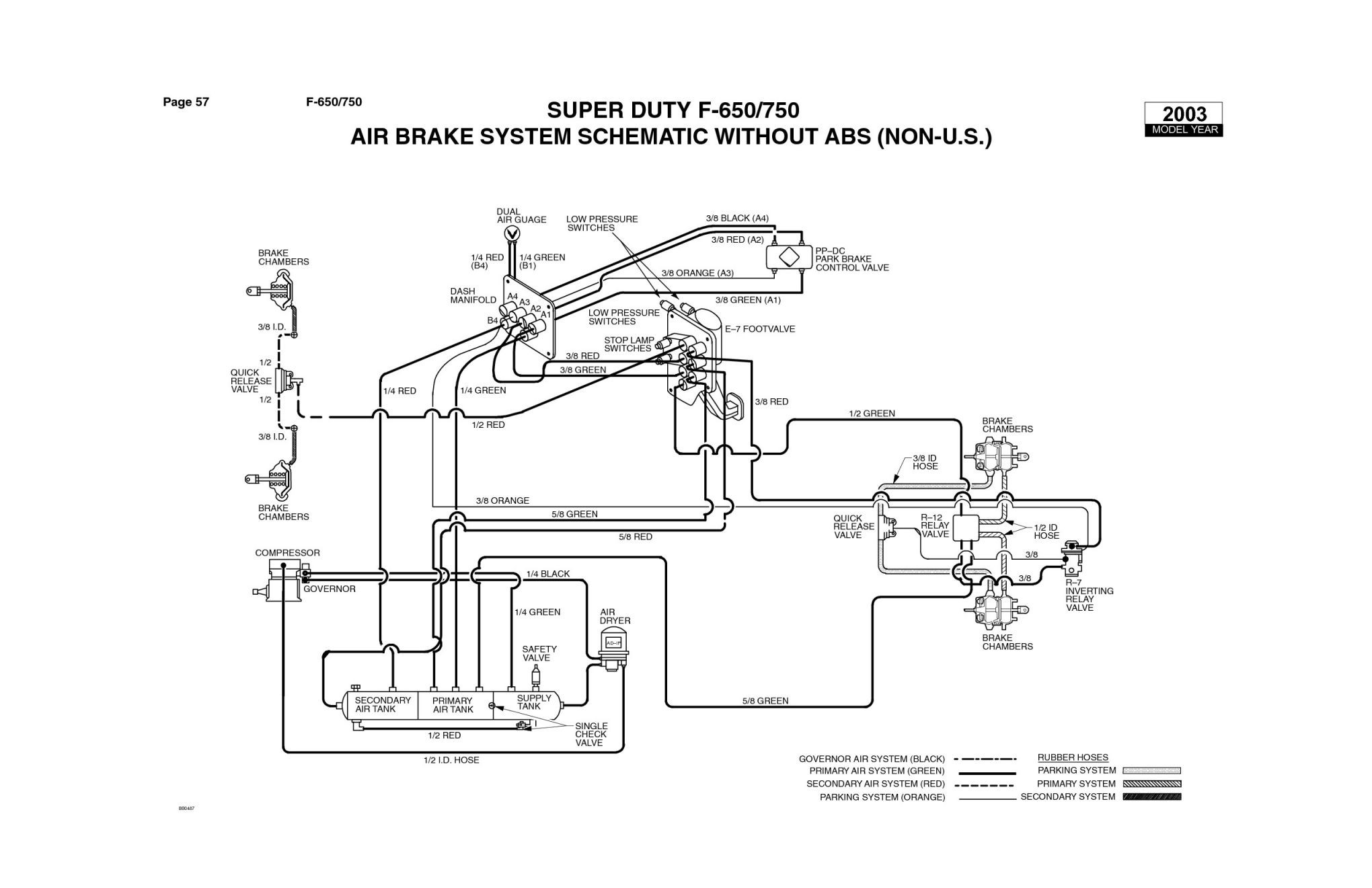 Truck Air Brake System Diagram Manual Fresh Pneumatic Brake System Xp13 – Documentaries for Change Of Truck Air Brake System Diagram Manual Volvo Brake Wiring Library Wiring Diagram •