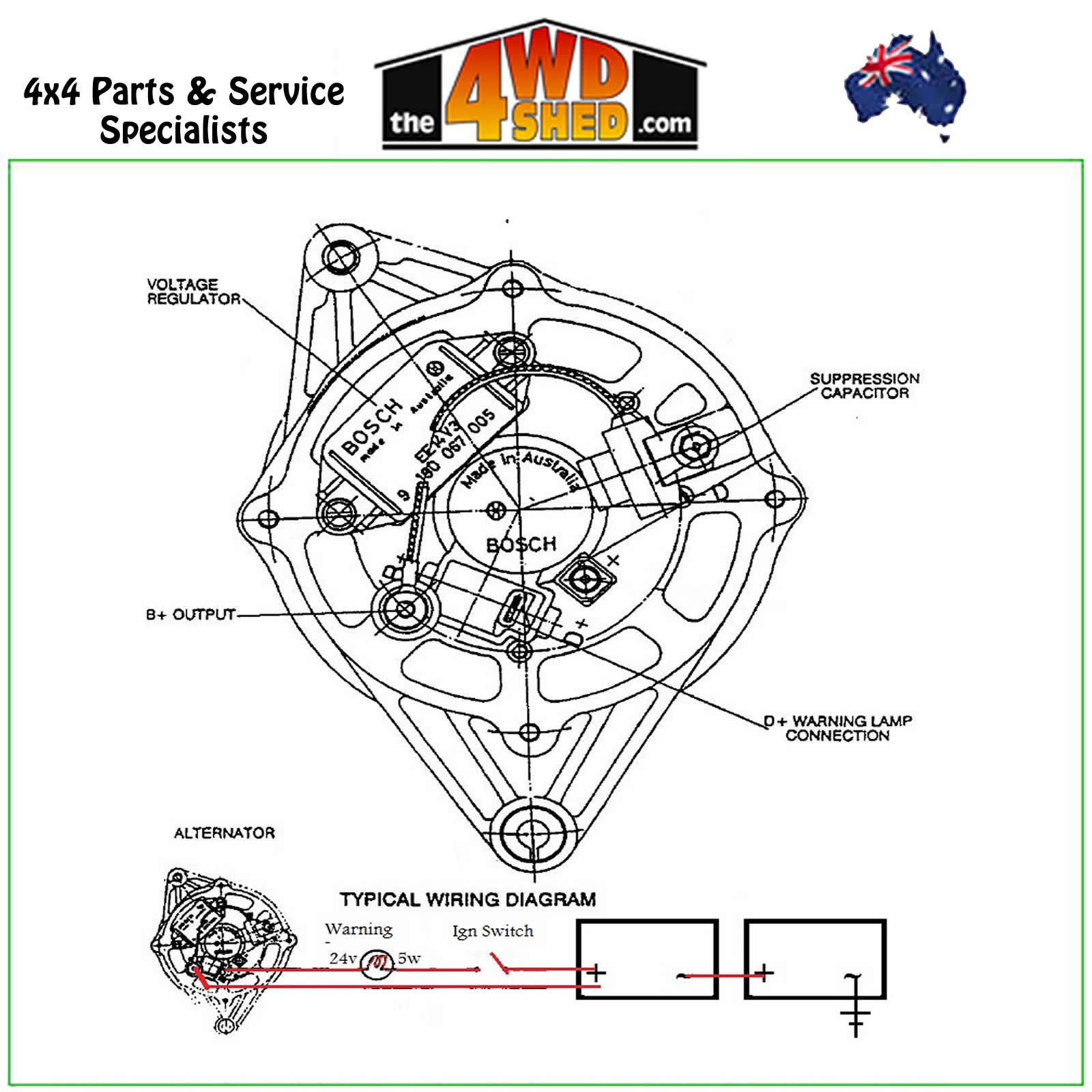 Valeo Alternator Diagram - Wiring Diagram Online