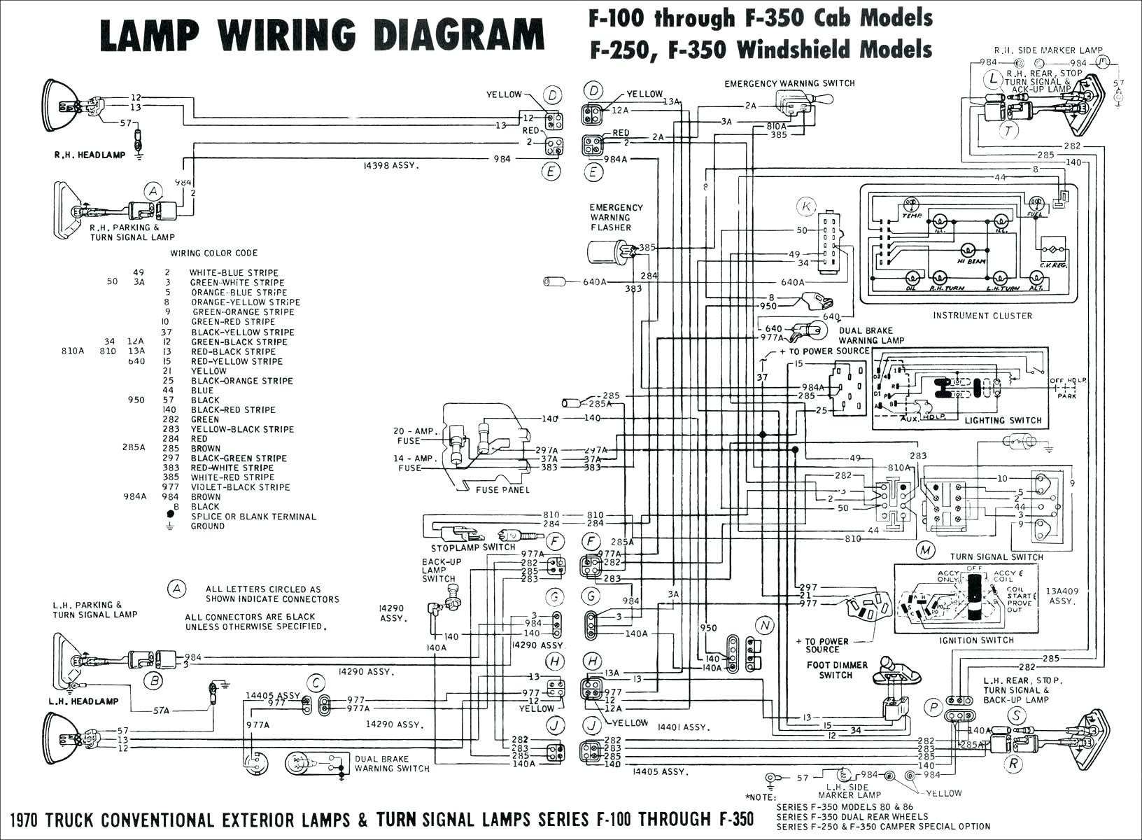 1979 ford truck wiring diagram
