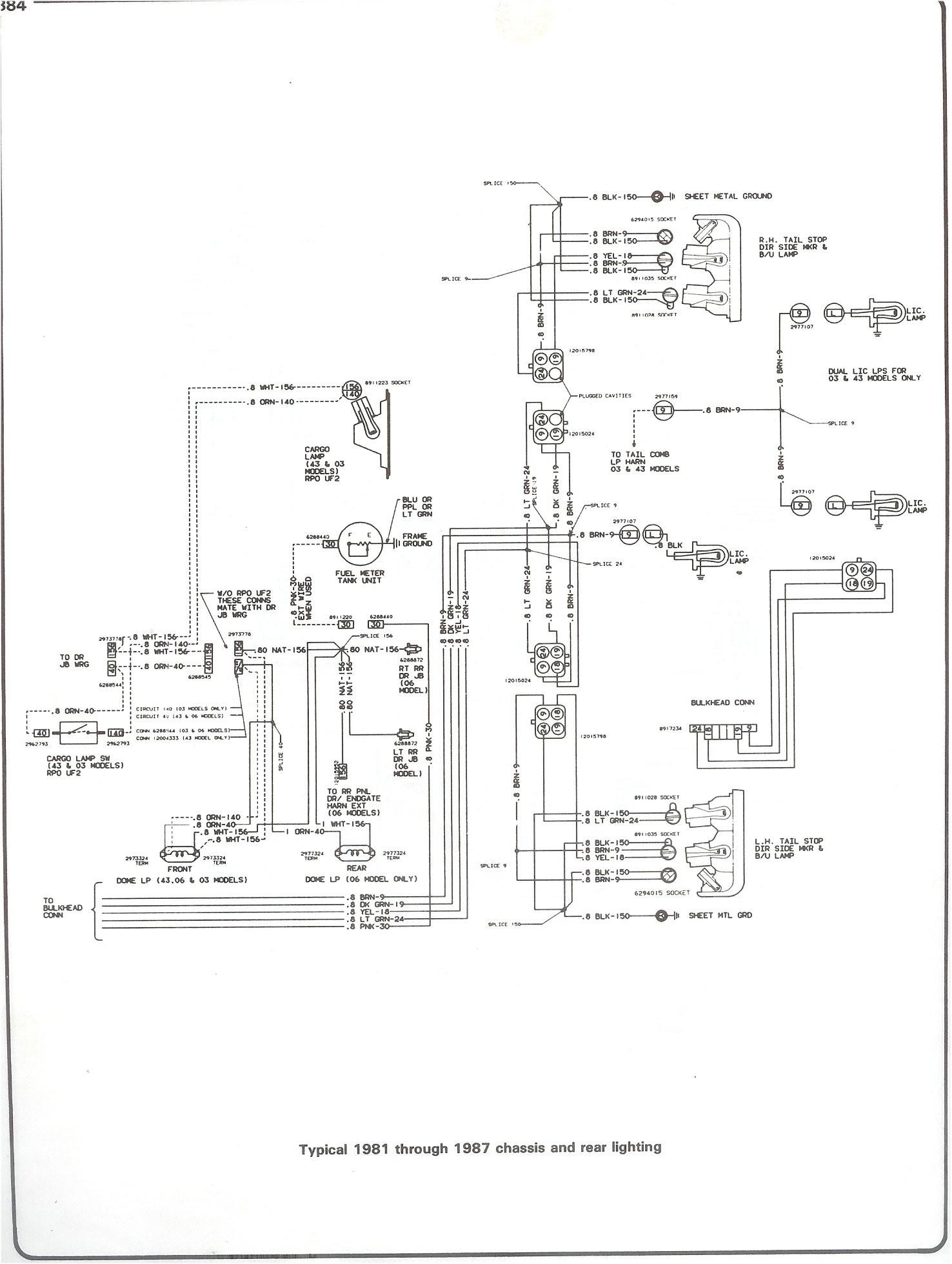 1987 chevy truck wiring diagram
