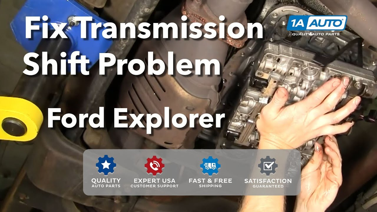 Auto Repair Fix Transmission Shift Problem Ford 5R55E Explorer BUY