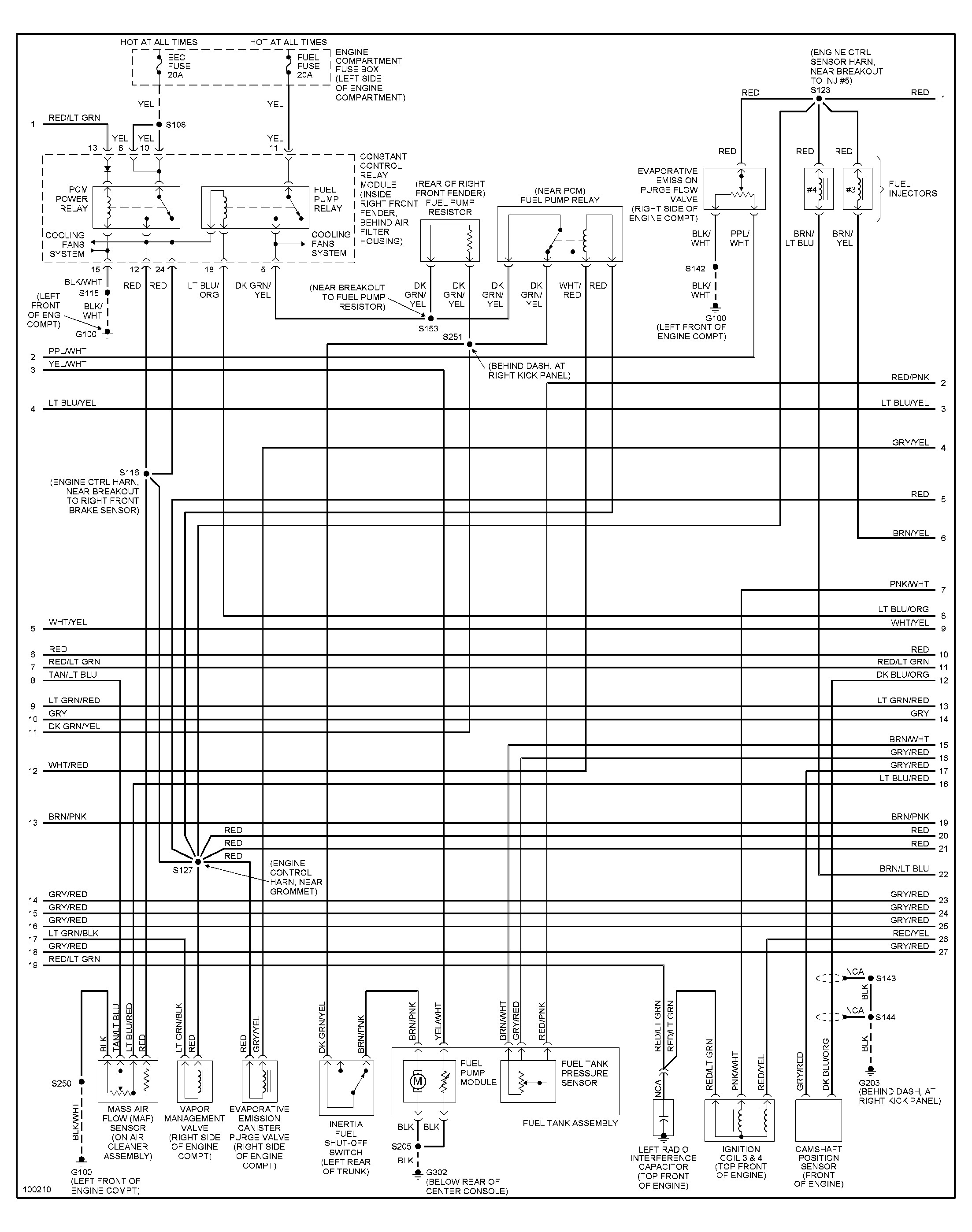 1998 ford Explorer Engine Diagram 1998 ford Mustang Wiring Diagram Gallery Of 1998 ford Explorer Engine Diagram