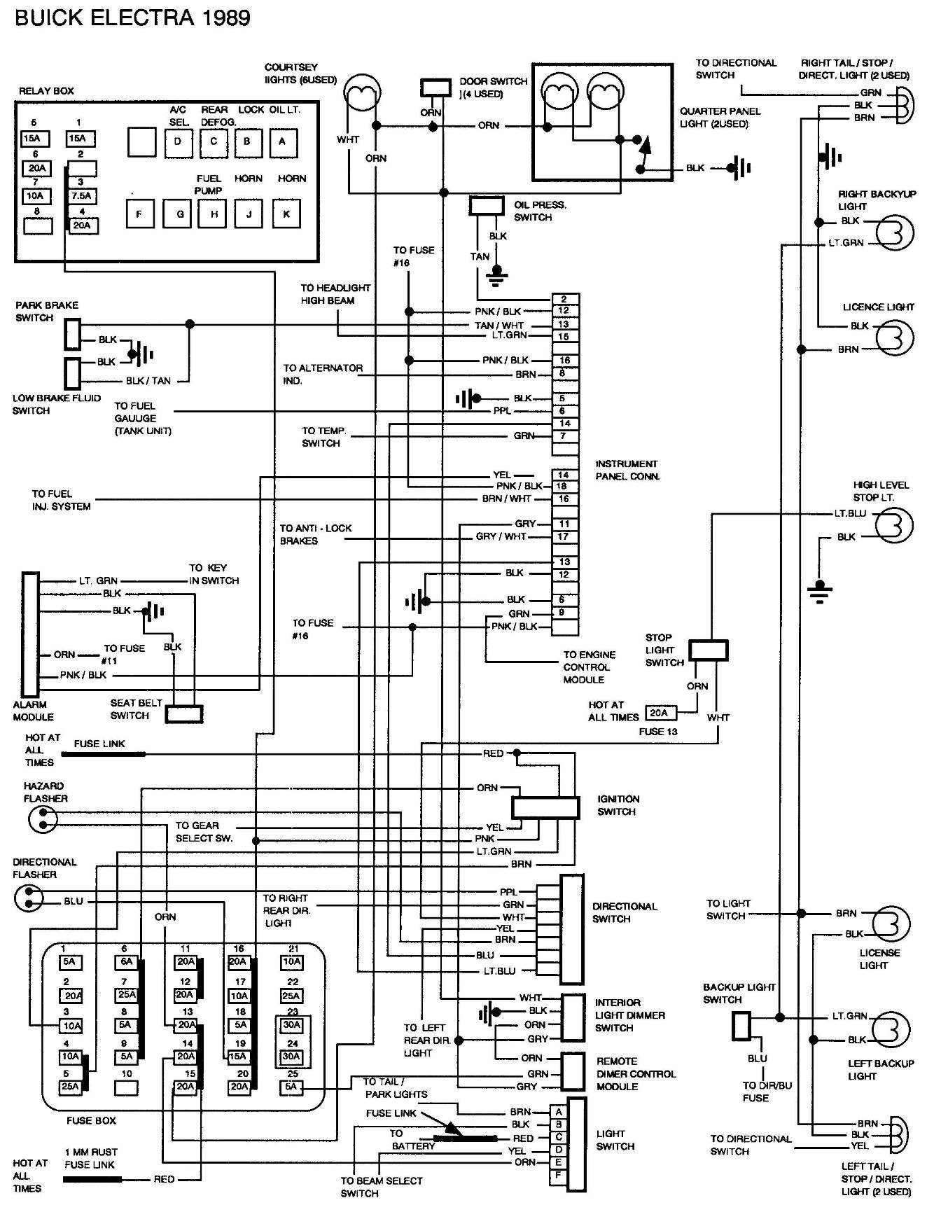 1999 Buick Century Wiring Diagram Free Buick Wiring Diagrams Data Schematics Wiring Diagram • Of 1999 Buick Century Wiring Diagram