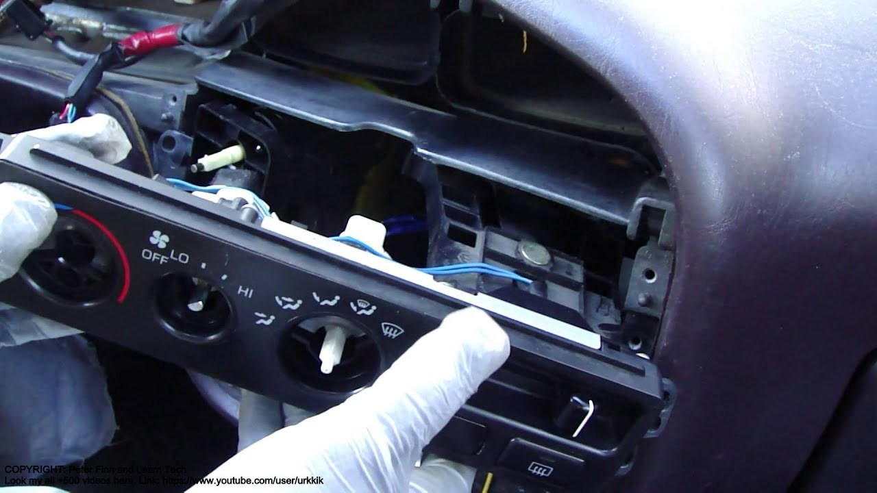1999 toyota solara Engine Diagram How to Replace toyota Camry Temperature Control Knob Console and Of 1999 toyota solara Engine Diagram
