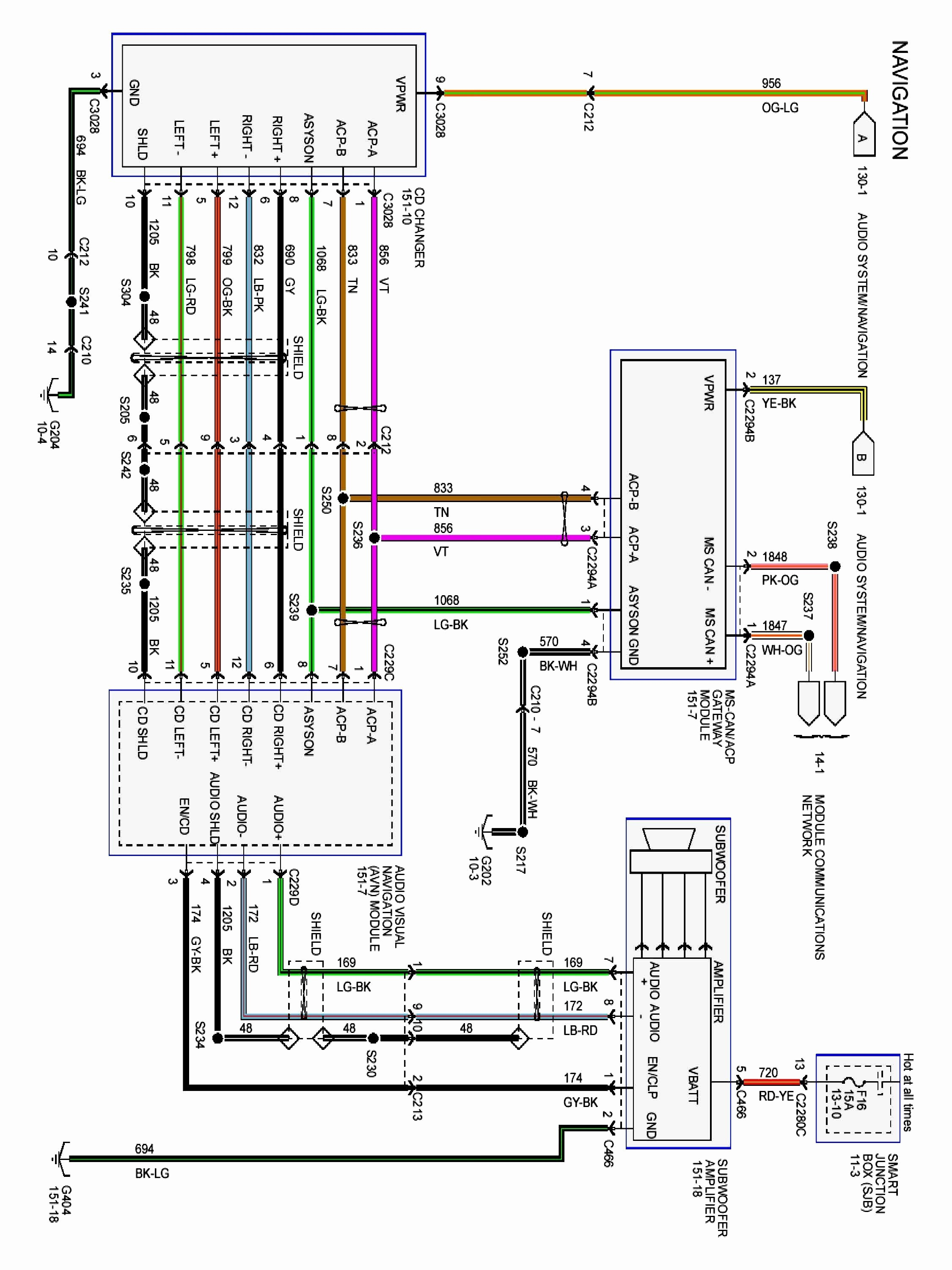 2006 Ford Taurus Radio Wiring Diagram Pictures - Wiring ...