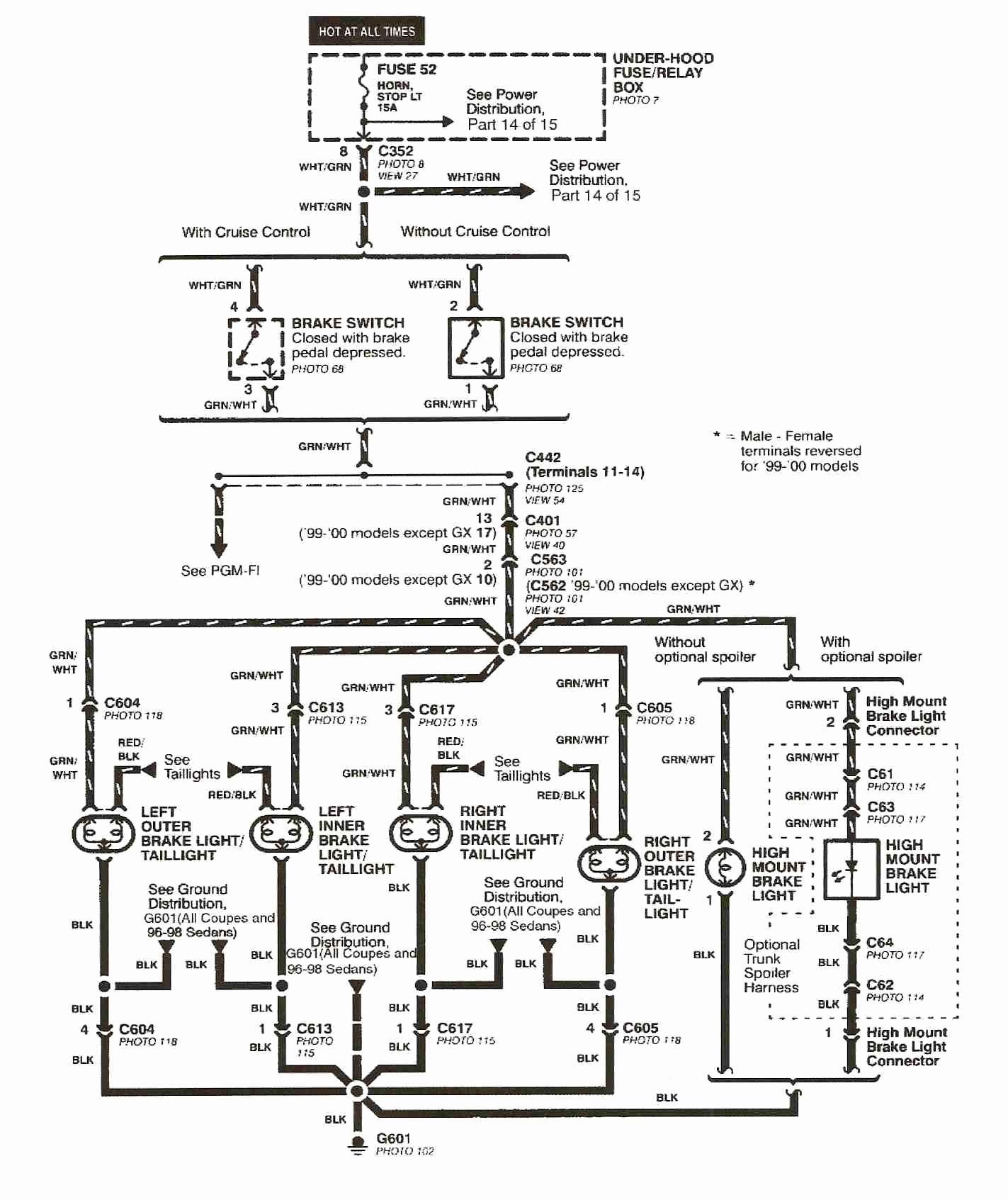 2000 Honda Civic Wiring Diagram 2000 Honda Civic Wiring Diagram Of 2000 Honda Civic Wiring Diagram