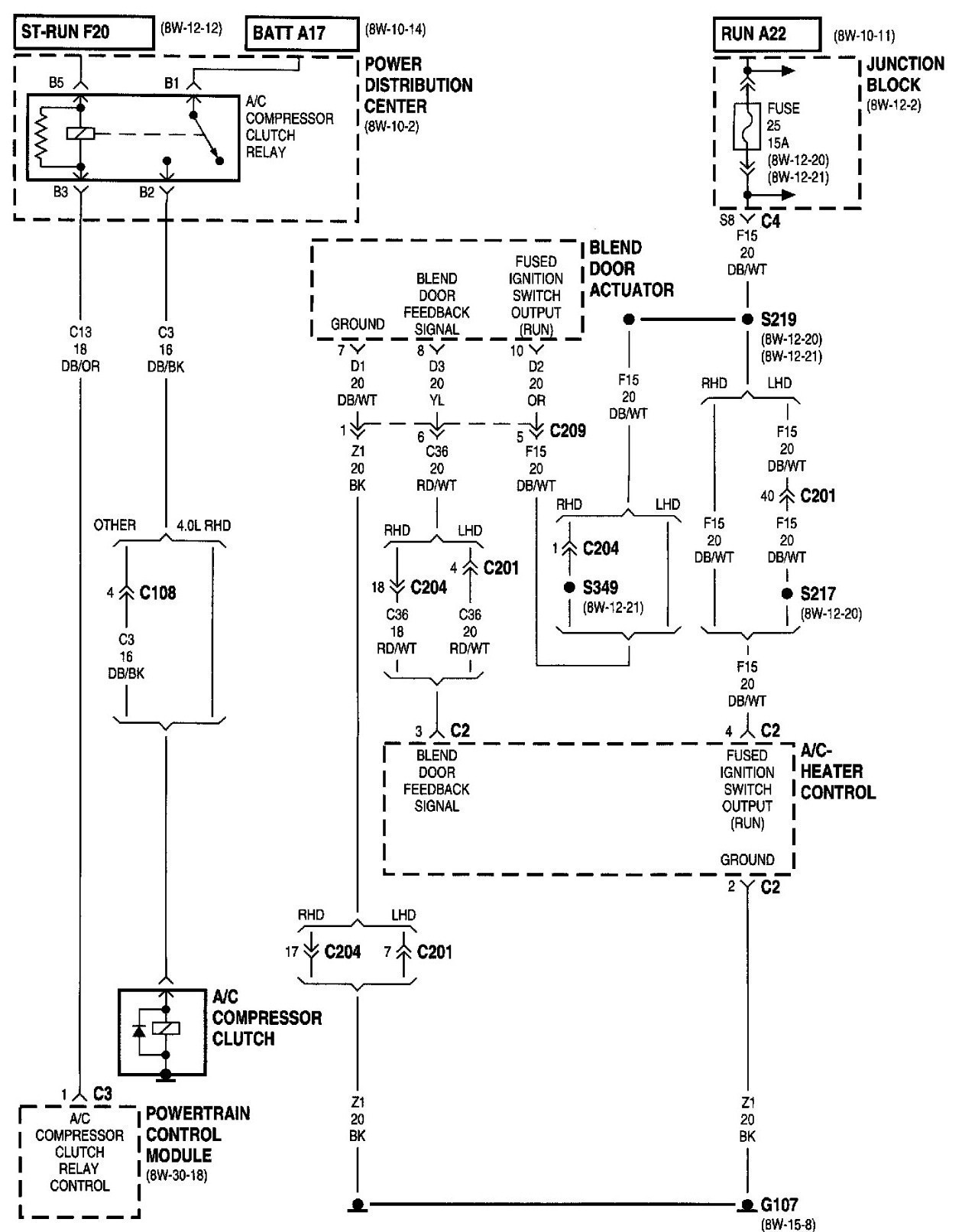2000 jeep cherokee sport engine diagram