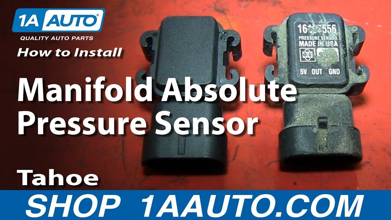 How To Install Replace Manifold Absolute Pressure Sensor MAP 1996 99