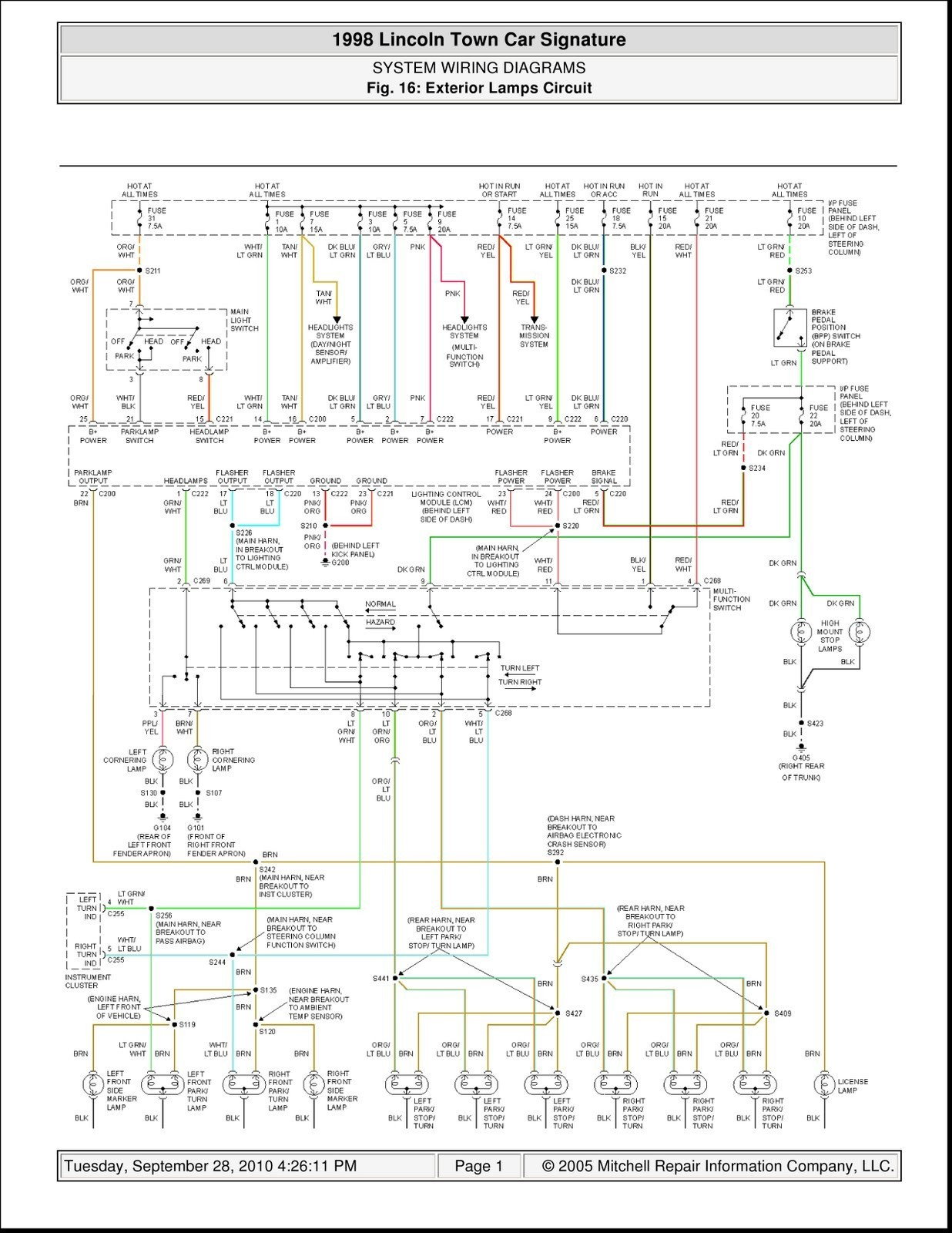 2001 Lincoln Navigator Engine Diagram Lincoln Continental Engine Diagram Worksheet and Wiring Diagram • Of 2001 Lincoln Navigator Engine Diagram