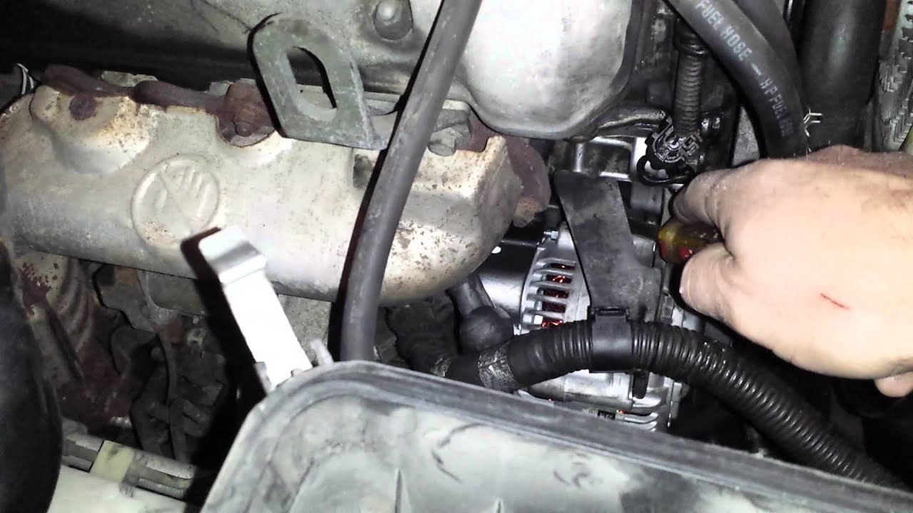 2002 Chevy Tracker Engine Diagram Suzuki Grand Vitara Alternator and Belt Replacement Of 2002 Chevy Tracker Engine Diagram